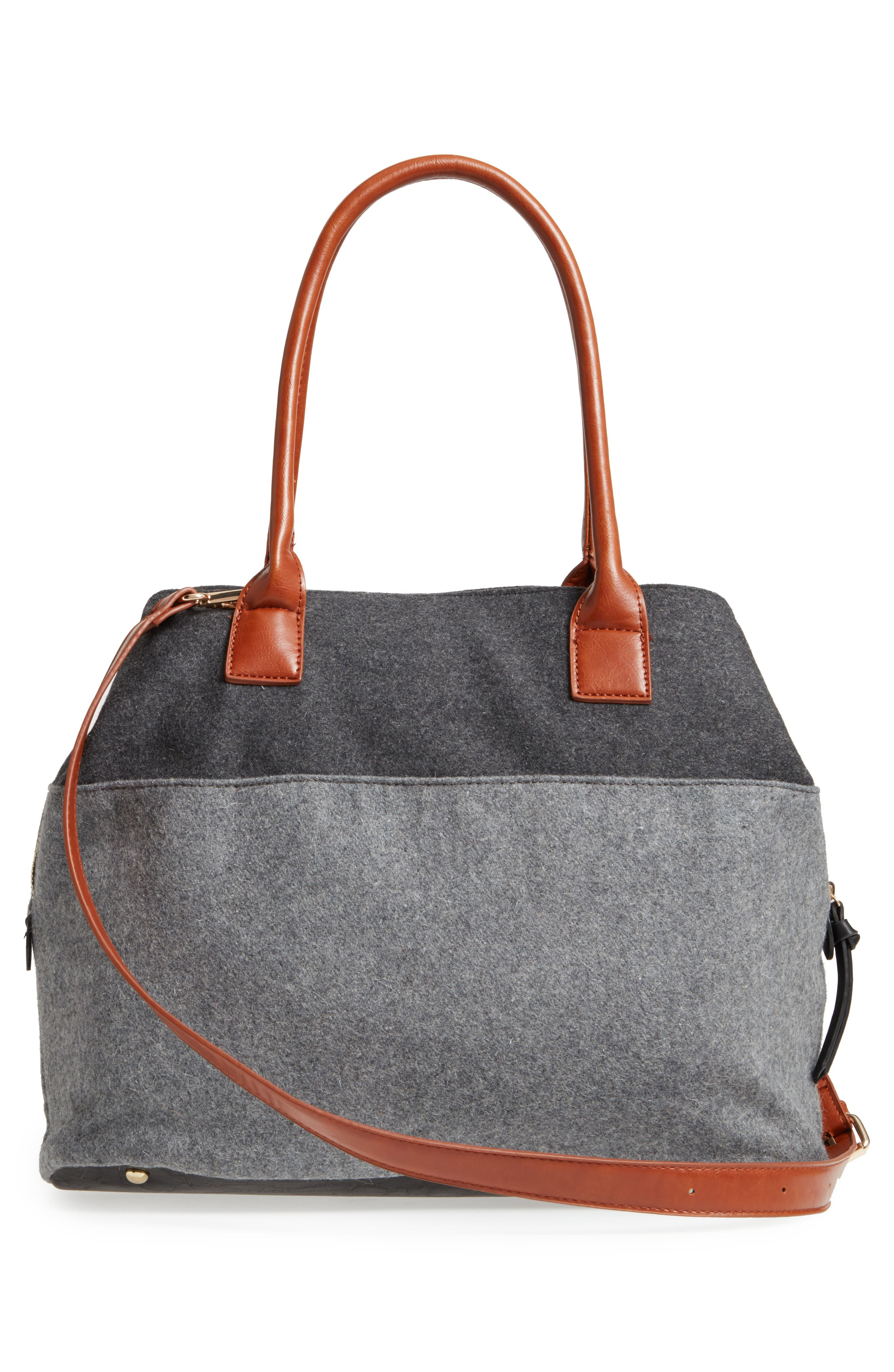 Chasity Duffel Bag,                             Alternate thumbnail 3, color,                             001