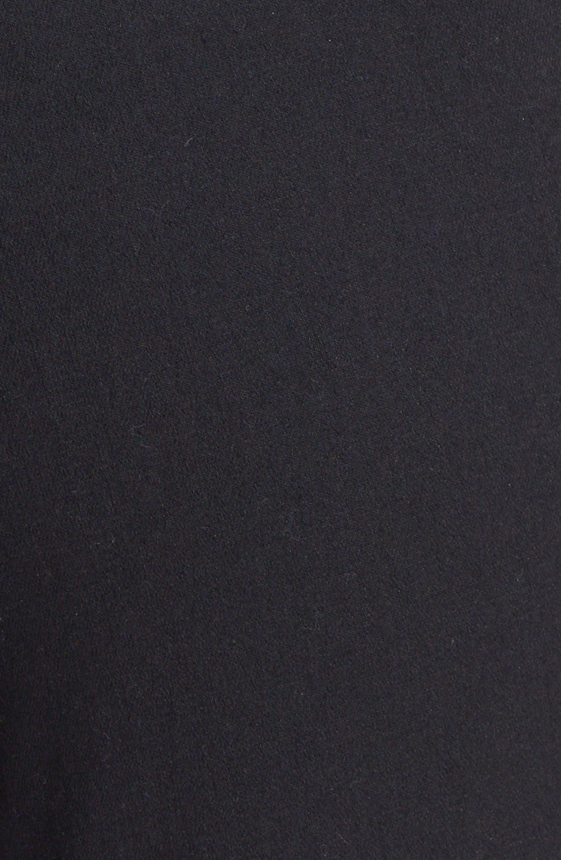 Skinny Crop Trousers,                             Alternate thumbnail 6, color,                             001