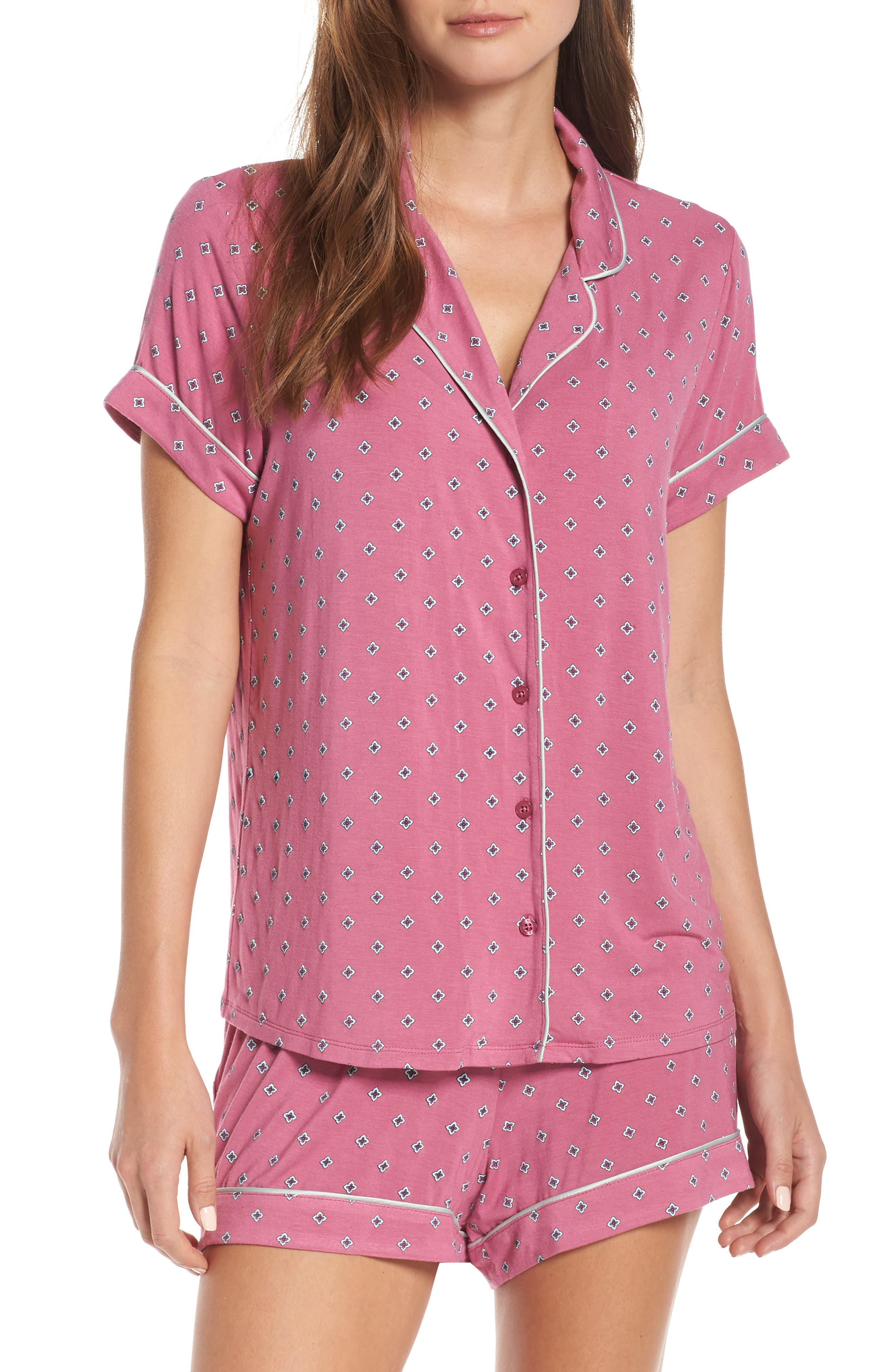 Nordstrom Lingerie Moonlight Short Pajamas, Pink