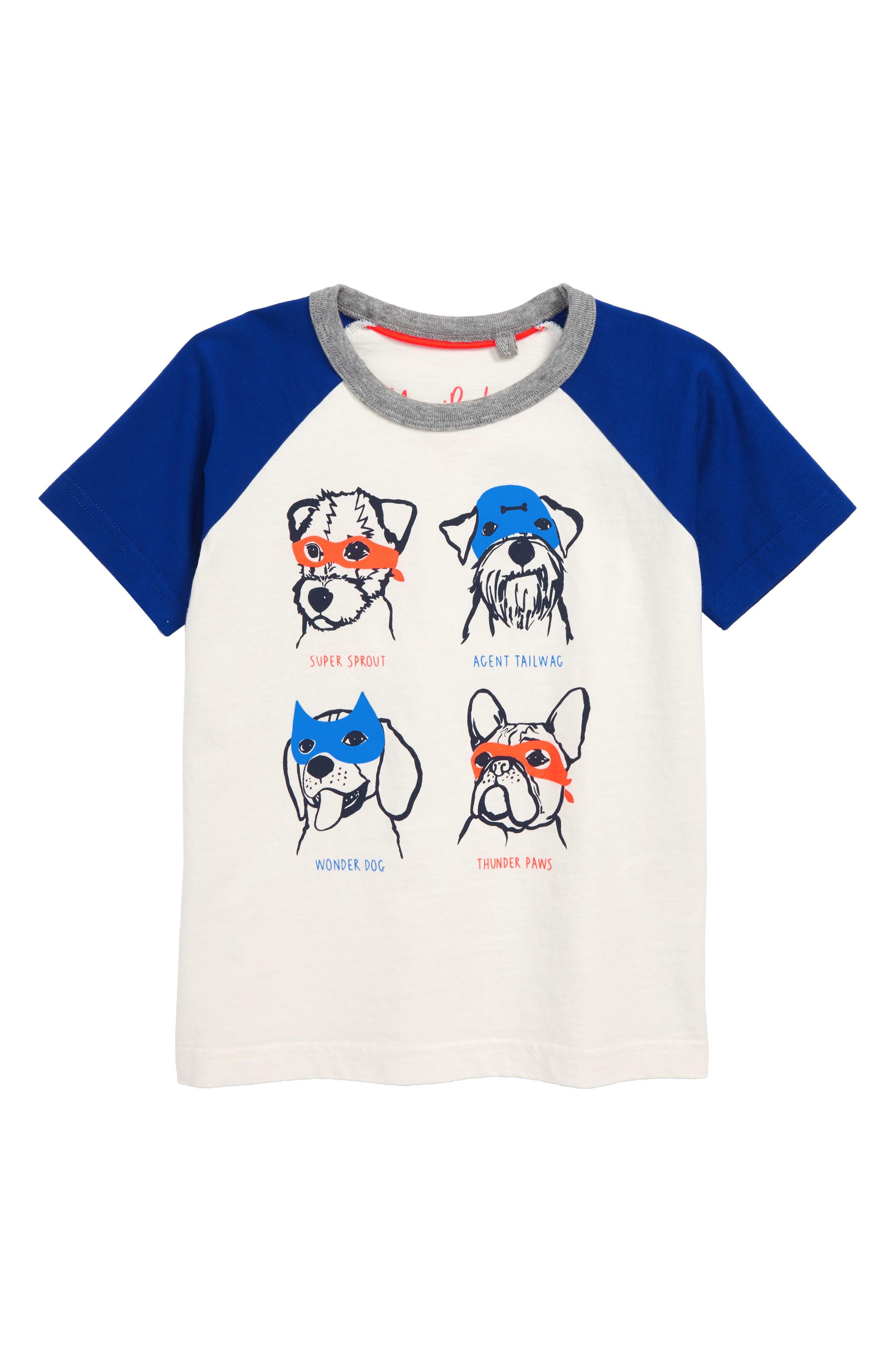 Animal Print Raglan Shirt,                         Main,                         color, ECRU
