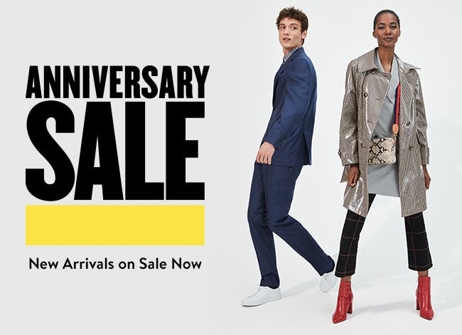 Anniversary Sale— new arrivals on sale now. Prices go up August 5.