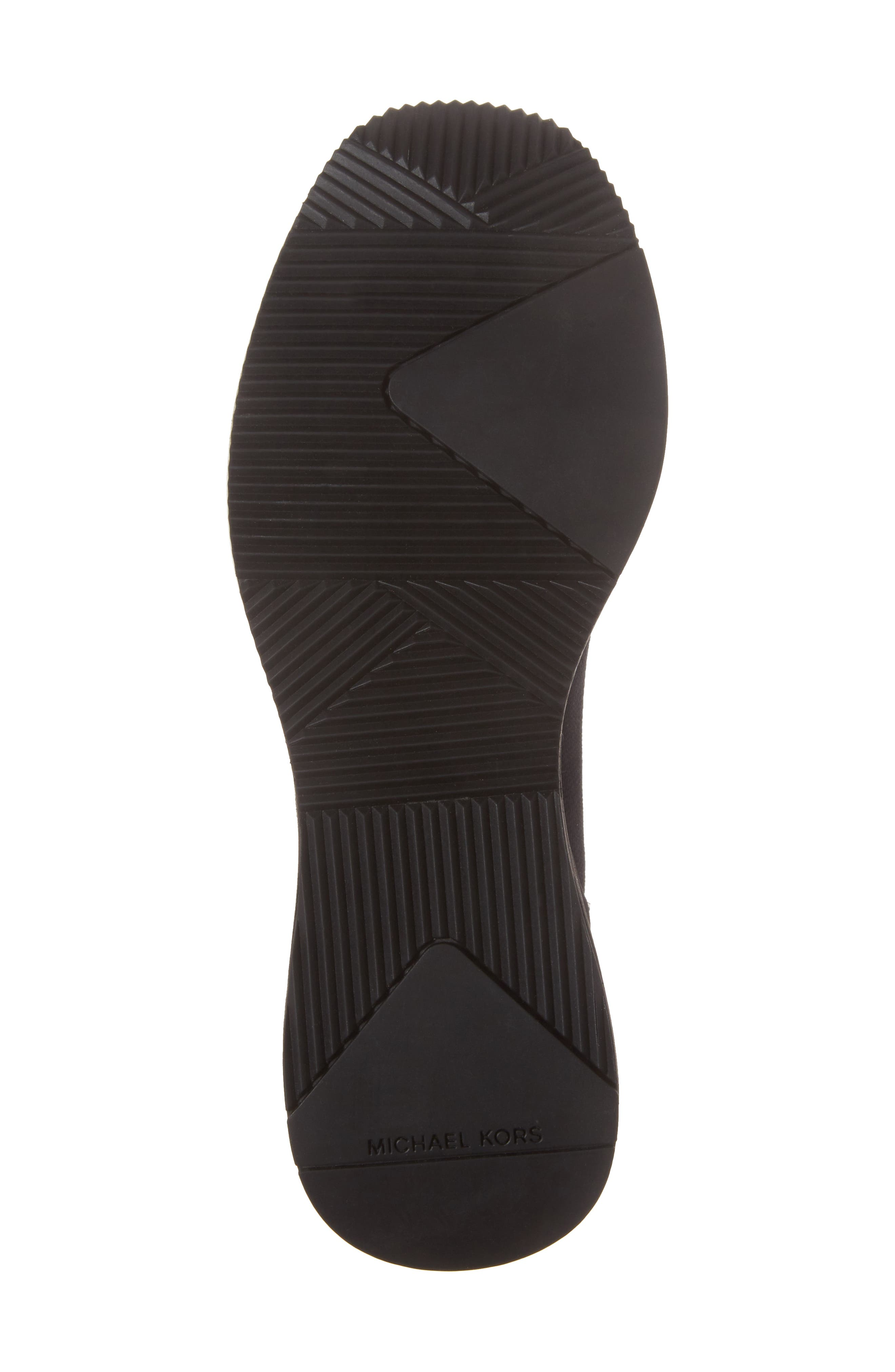 Skyler Knit Bootie,                             Alternate thumbnail 6, color,                             BLACK