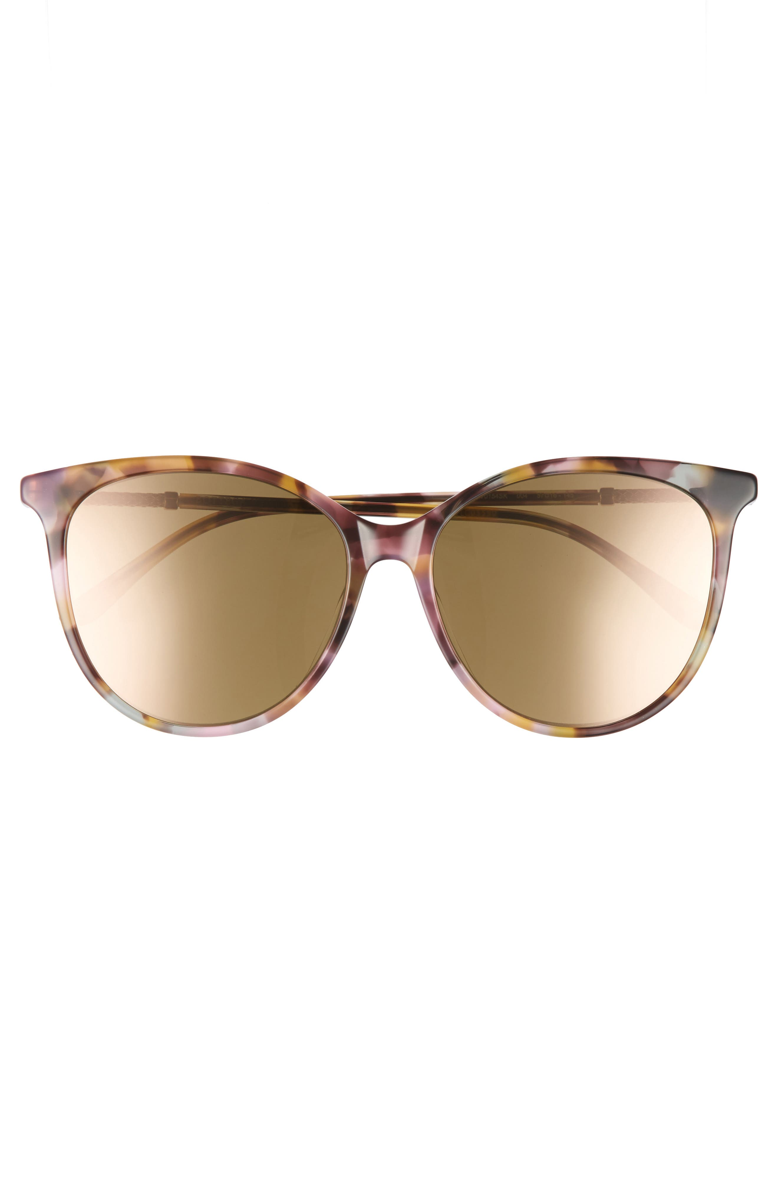 57mm Cat Eye Sunglasses,                             Alternate thumbnail 11, color,