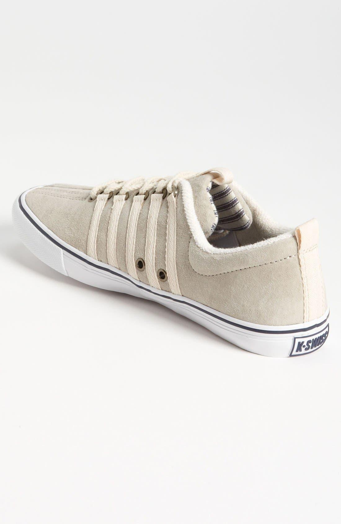 'Billy Reid Venice' Suede Sneaker,                             Alternate thumbnail 4, color,                             052