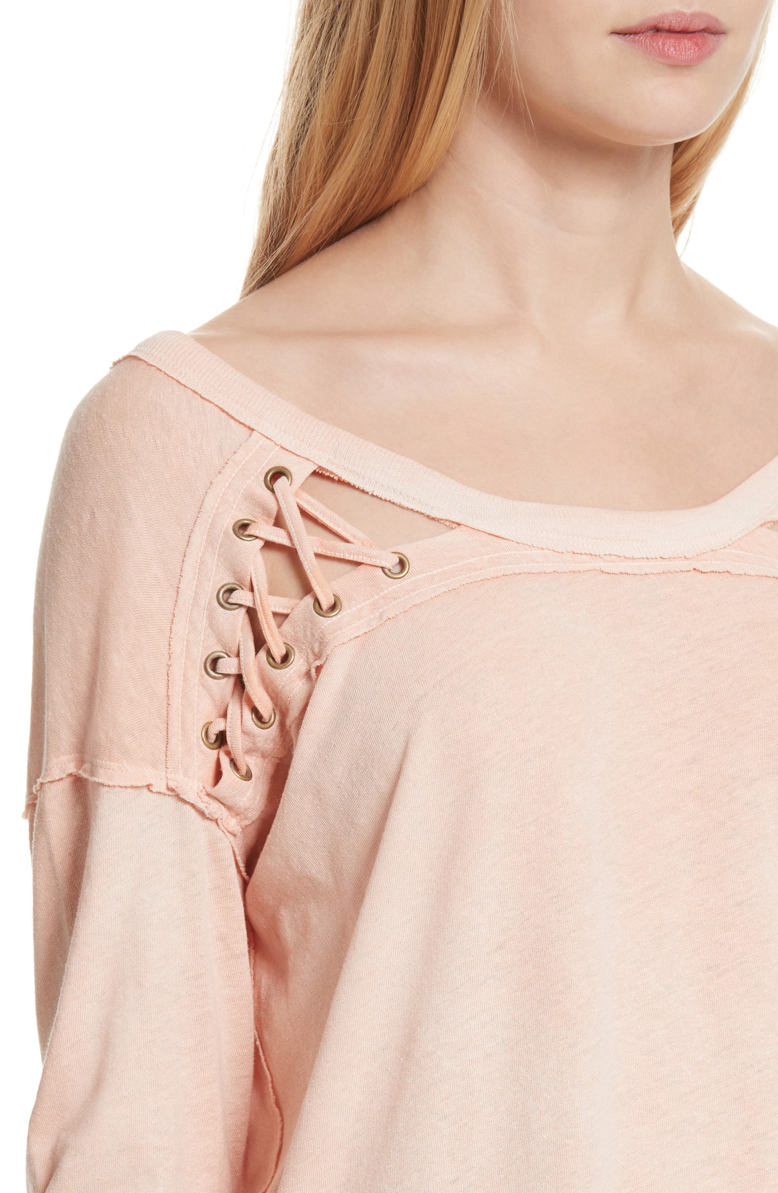 First Love Lace-Up Tee,                             Alternate thumbnail 20, color,