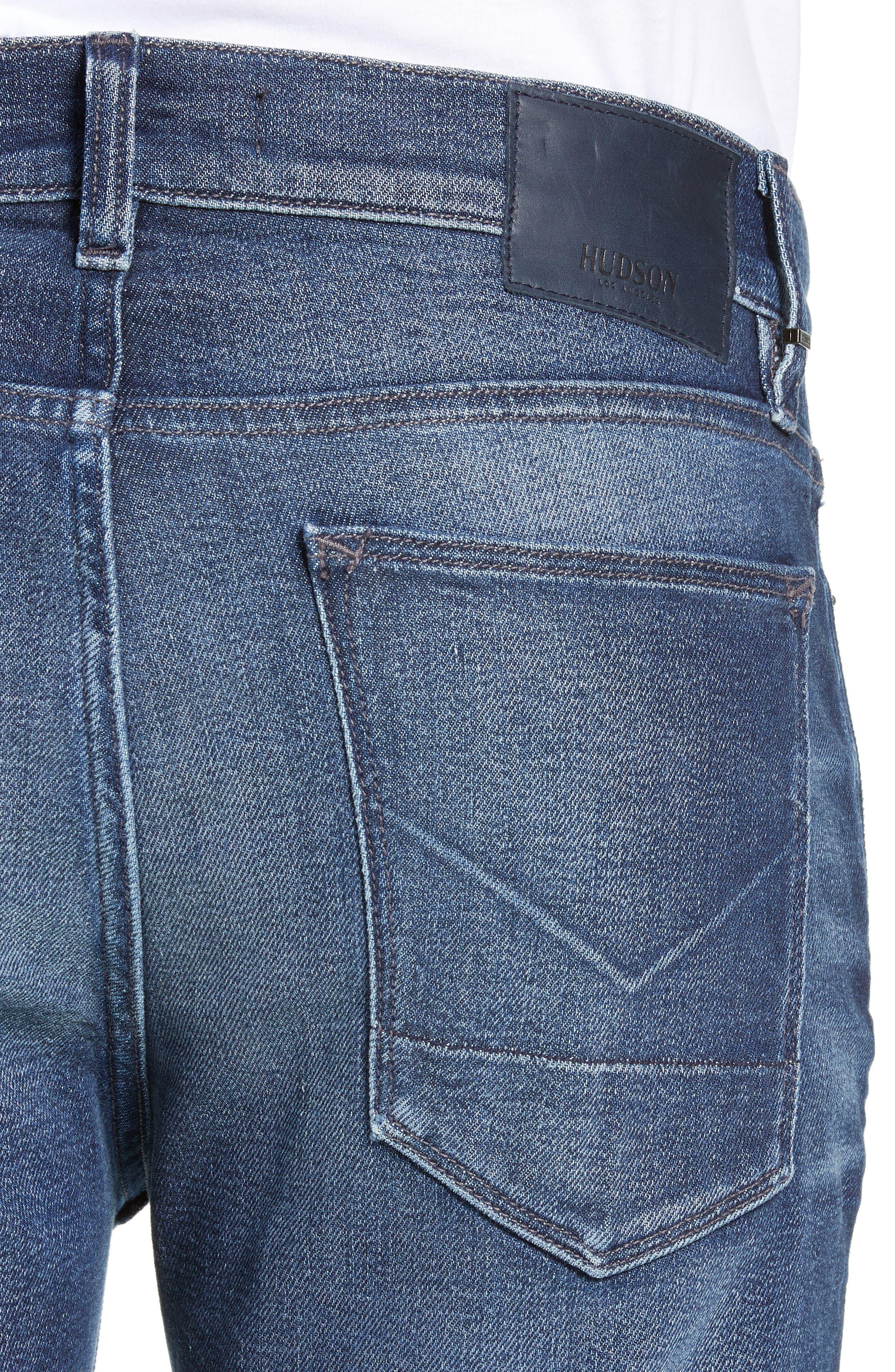 Axl Skinny Fit Jeans,                             Alternate thumbnail 4, color,                             BENNETT