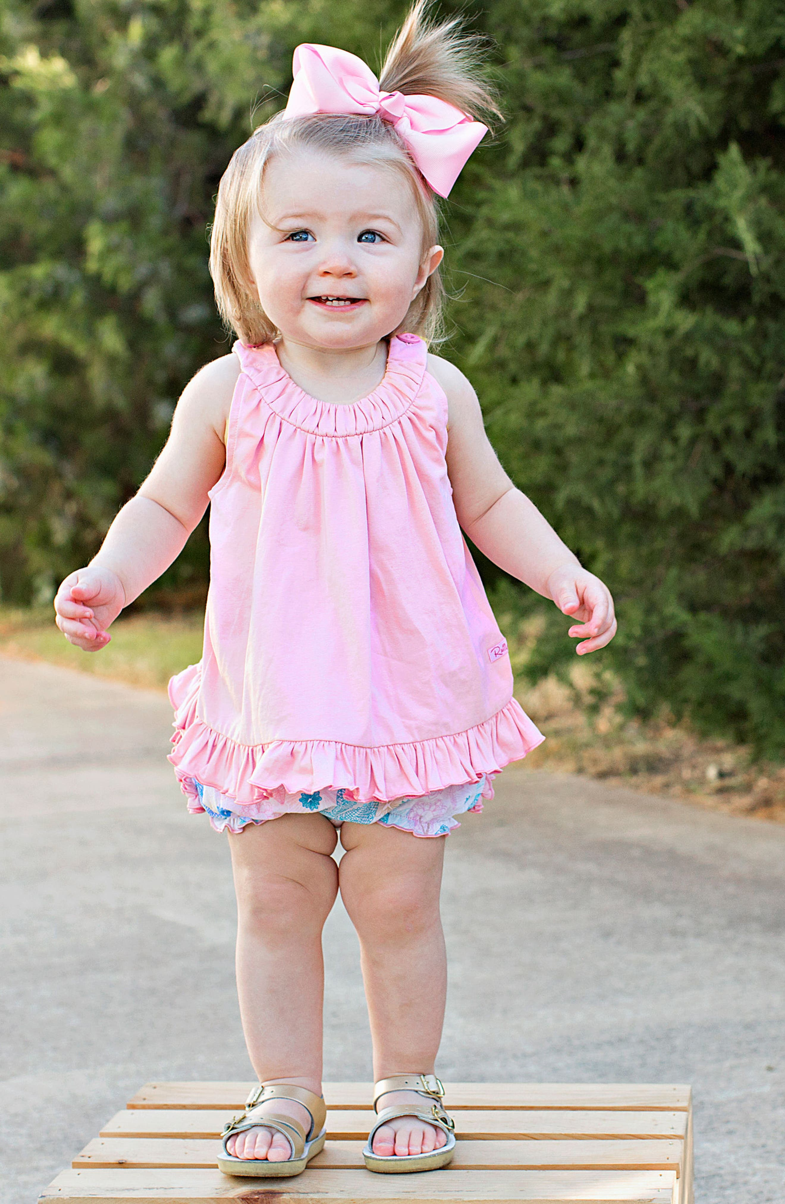 Dancing Dragonflies Swing Top & Ruffle Bloomers Set,                             Alternate thumbnail 3, color,