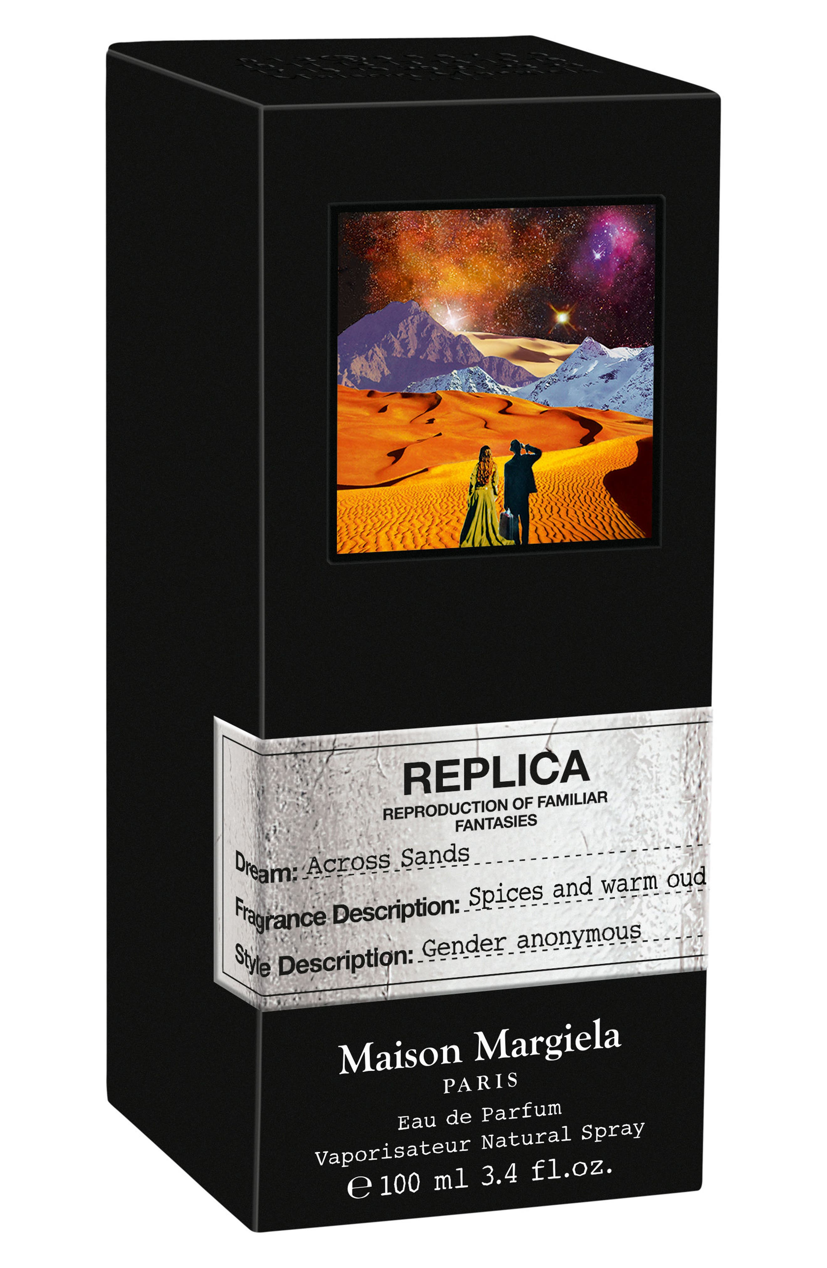 Replica Across Sands Eau de Parfum,                             Alternate thumbnail 2, color,                             NO COLOR