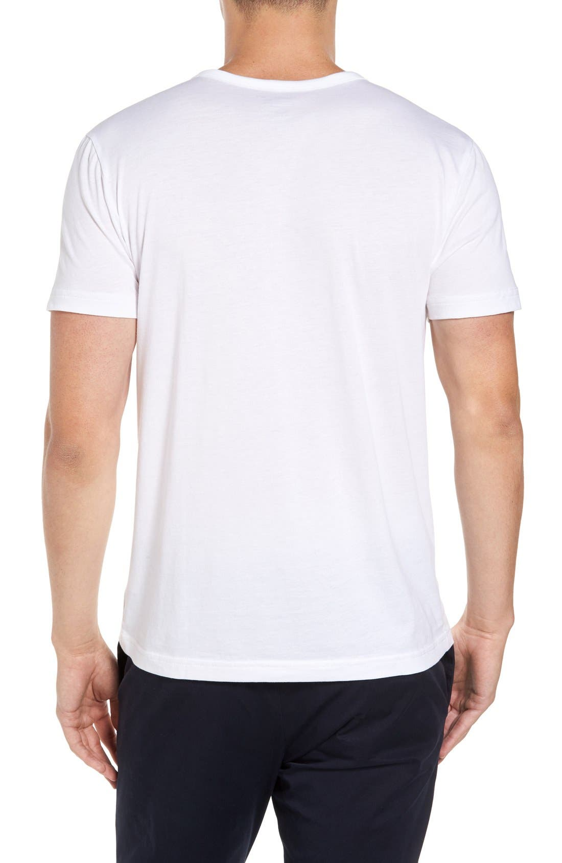 Henley T-Shirt,                             Alternate thumbnail 7, color,
