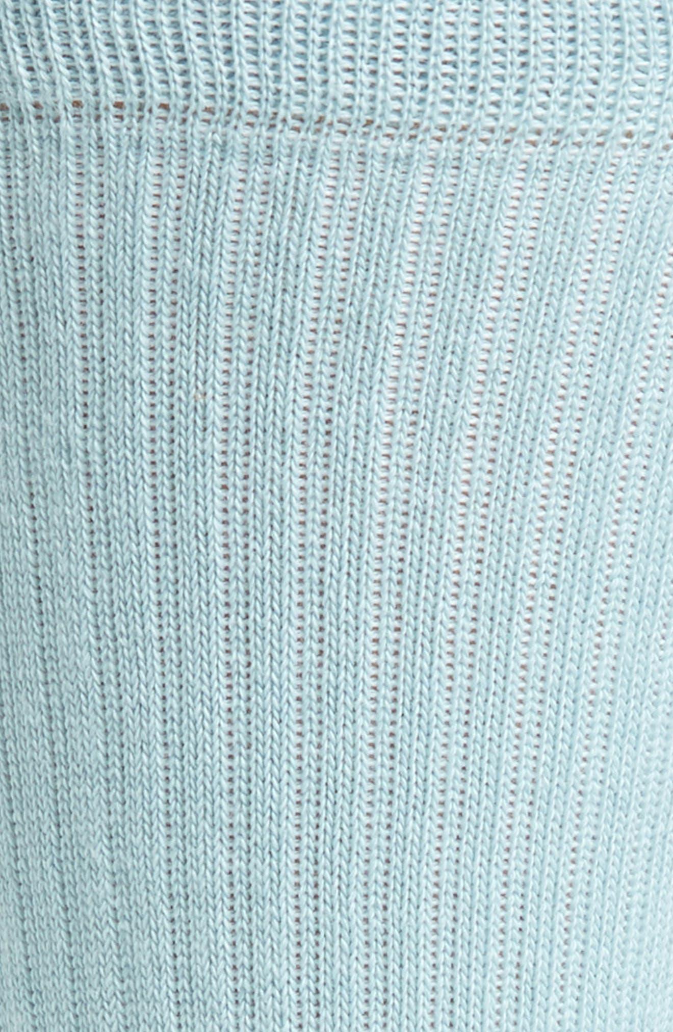 'Icon' Crew Socks,                             Alternate thumbnail 2, color,                             PASTEL BLUE