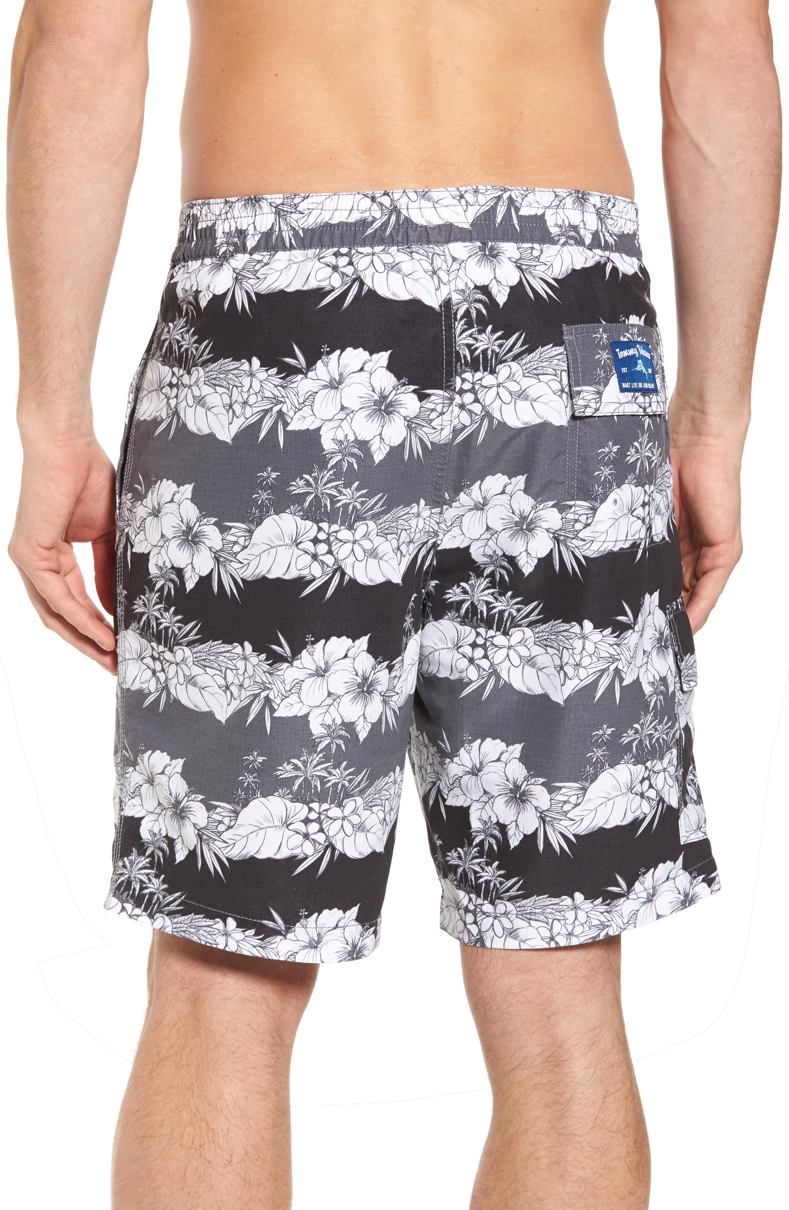 Baja Sky Vines Swim Trunks,                             Alternate thumbnail 2, color,                             001