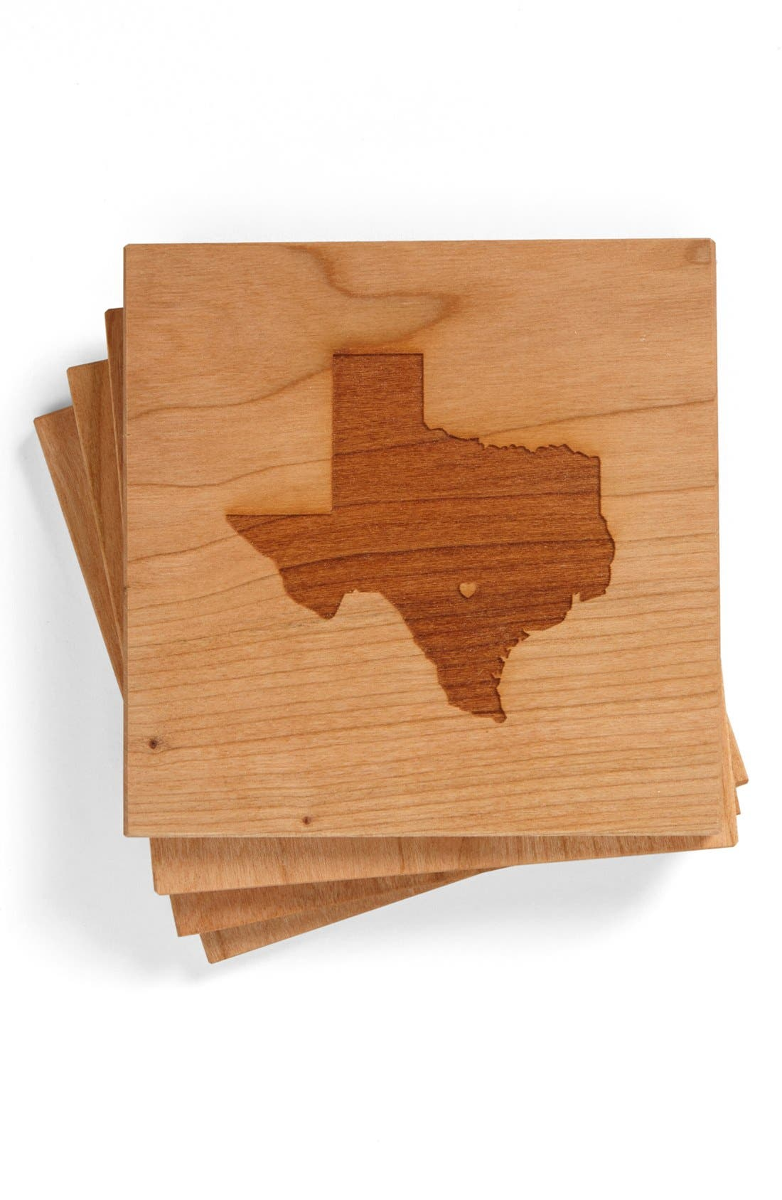 'State Silhouette' Coasters,                             Main thumbnail 6, color,