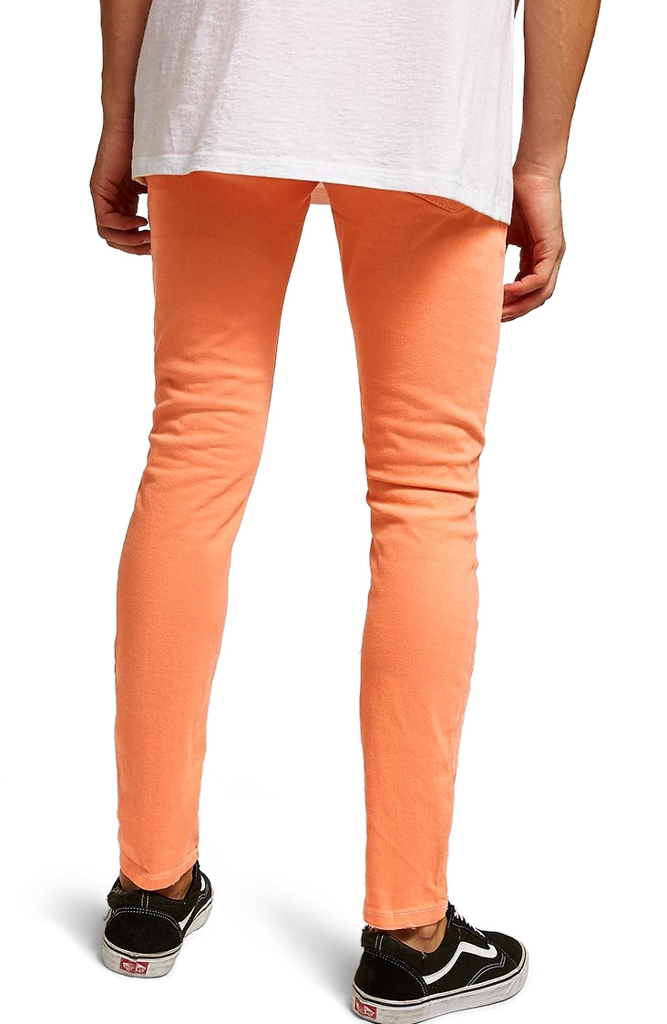 Ripped Skinny Fit Jeans,                             Alternate thumbnail 2, color,                             800