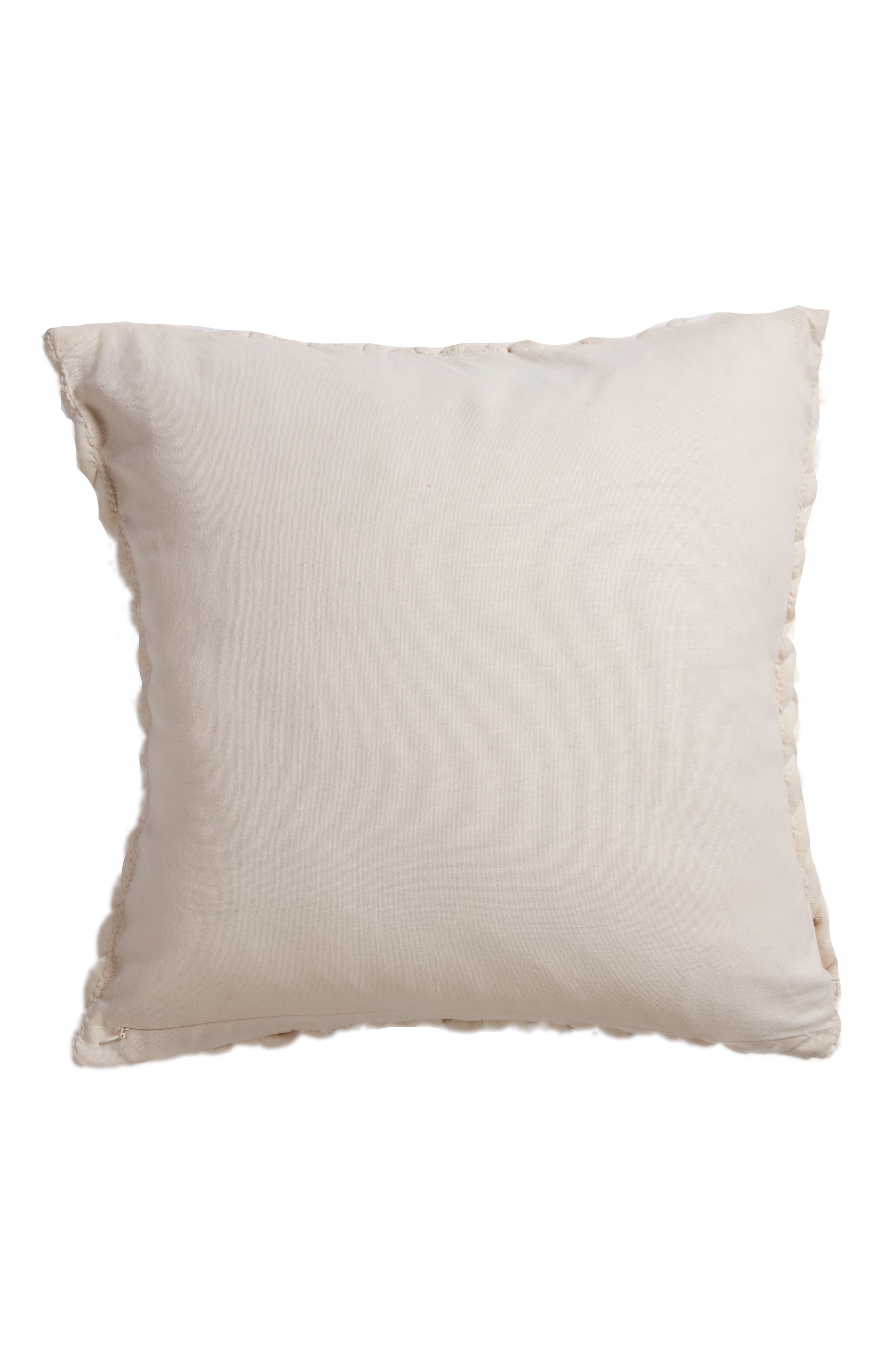 Jersey Braid Accent Pillow,                             Alternate thumbnail 2, color,                             250