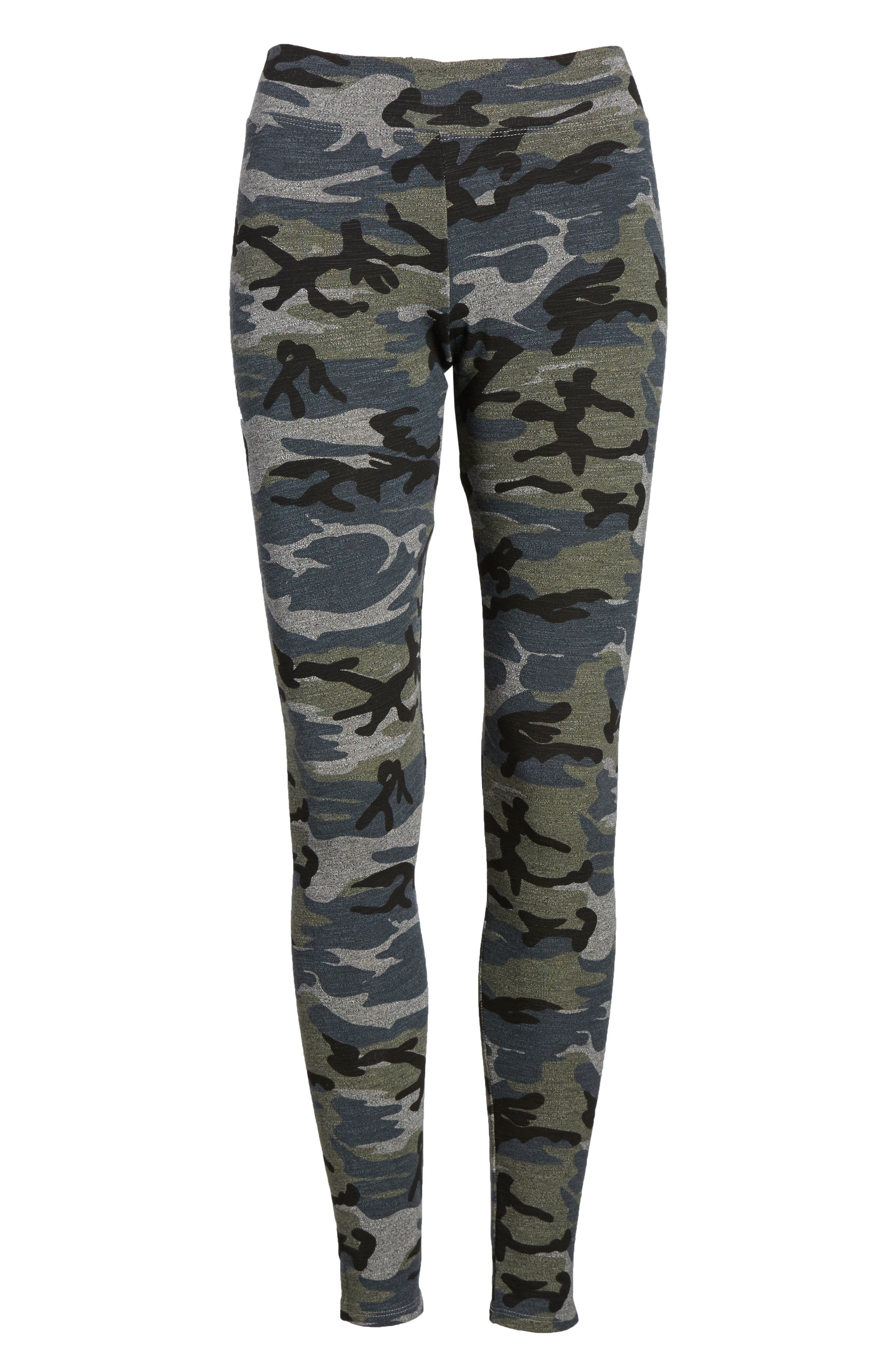 Camo Yoga Pants,                             Alternate thumbnail 13, color,