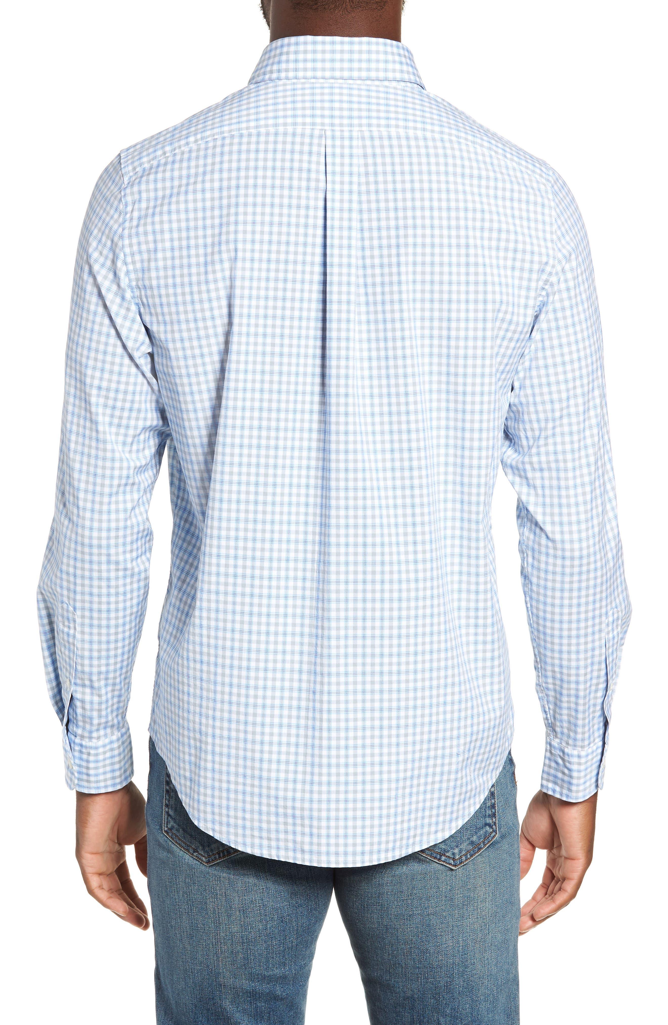VINEYARD VINES,                             Murray Slim Fit Sport Shirt,                             Alternate thumbnail 3, color,                             034