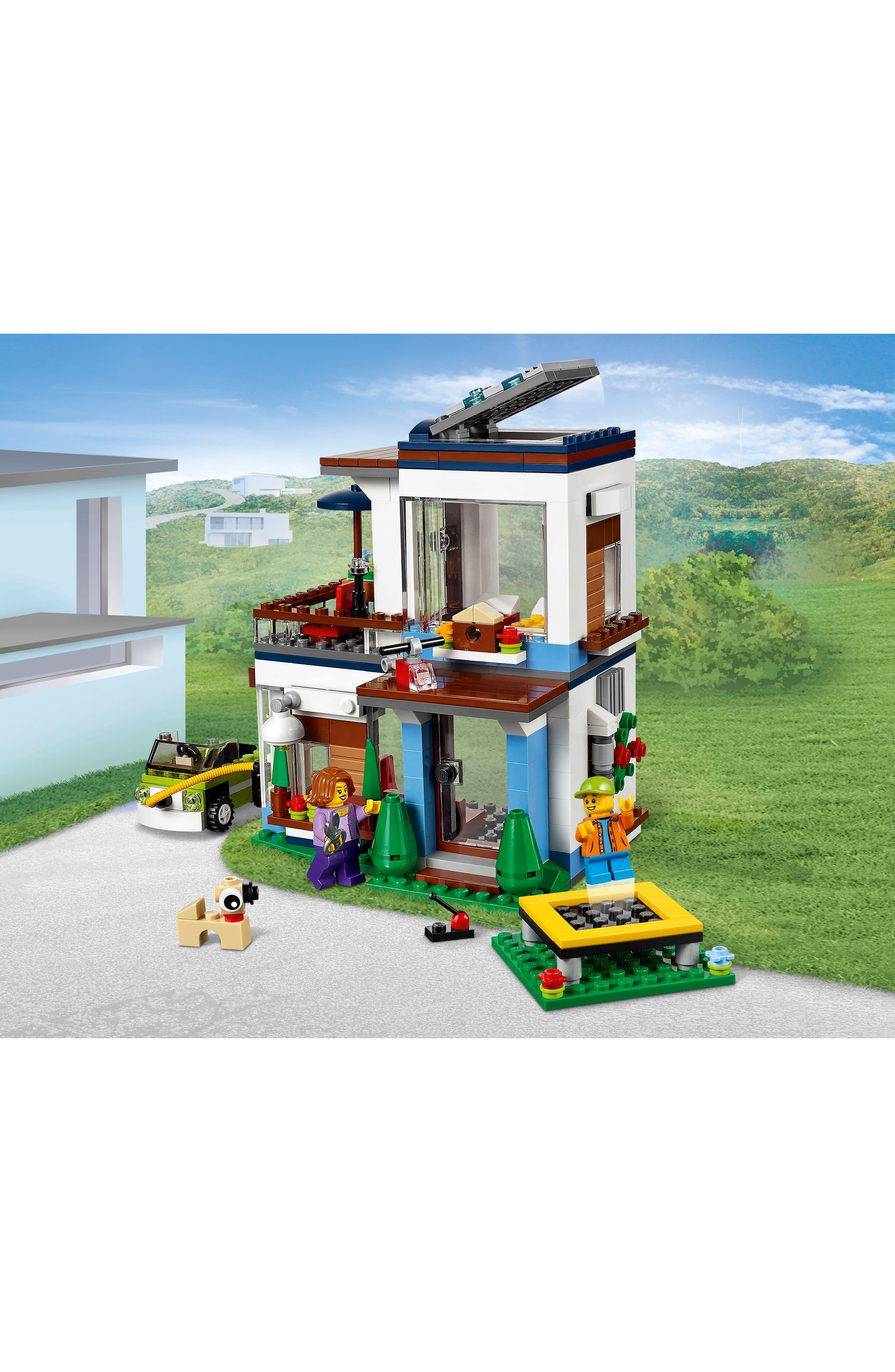 Creator 3-in-1 Modular Modern Home Play Set - 31068,                             Alternate thumbnail 3, color,