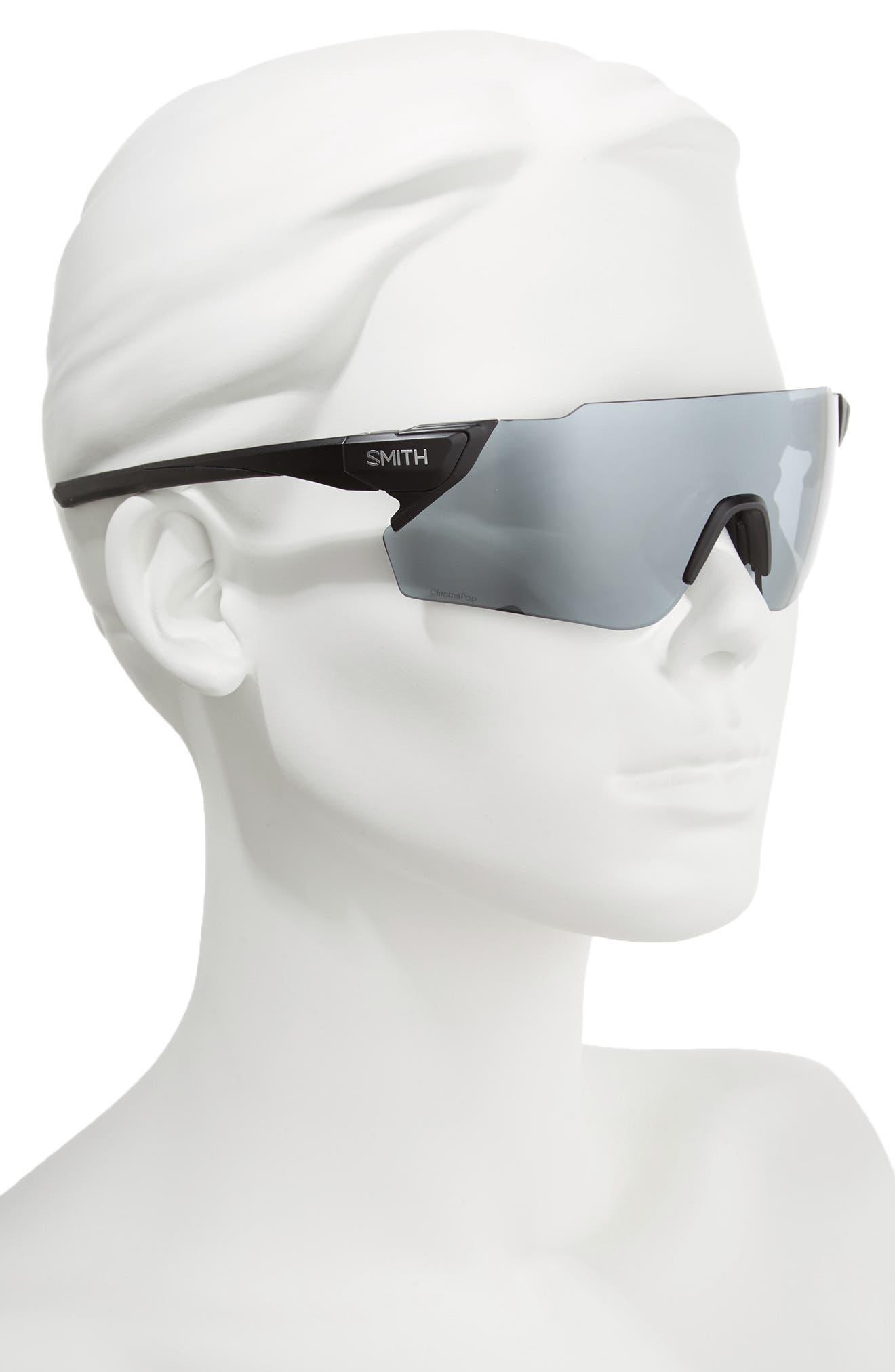 Attack Max 125mm ChromaPop<sup>™</sup> Polarized Shield Sunglasses,                             Alternate thumbnail 3, color,                             002