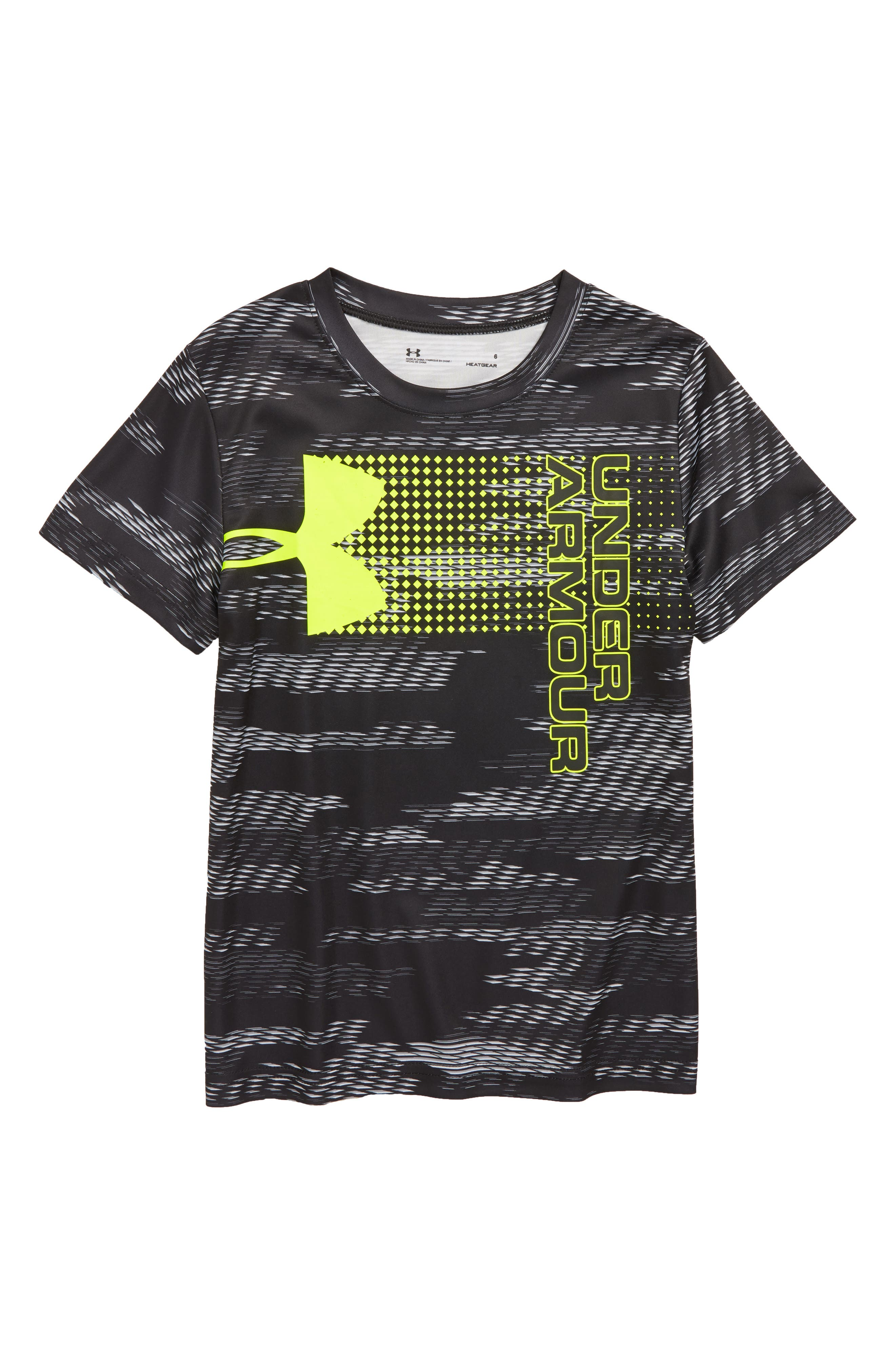 Trave Hybrid Shirt,                         Main,                         color, BLACK