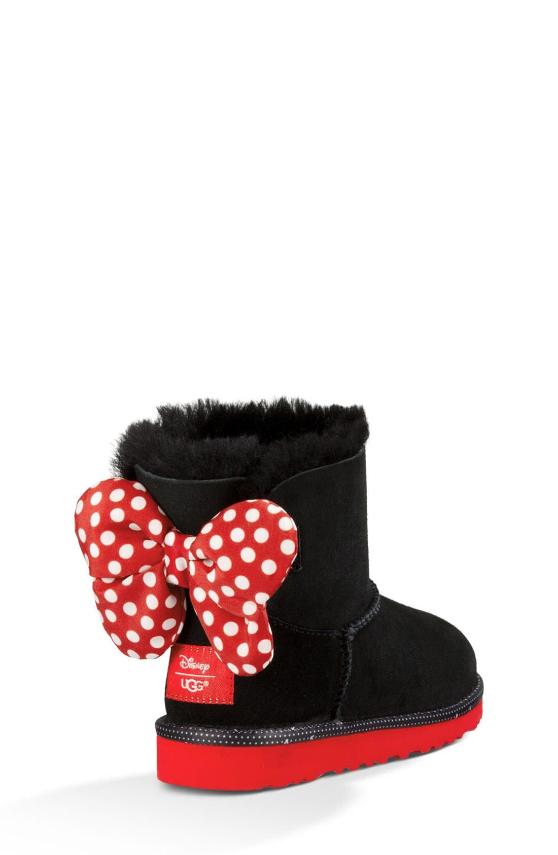 Disney<sup>®</sup> 'Sweetie Bow' Boot,                             Alternate thumbnail 3, color,                             001