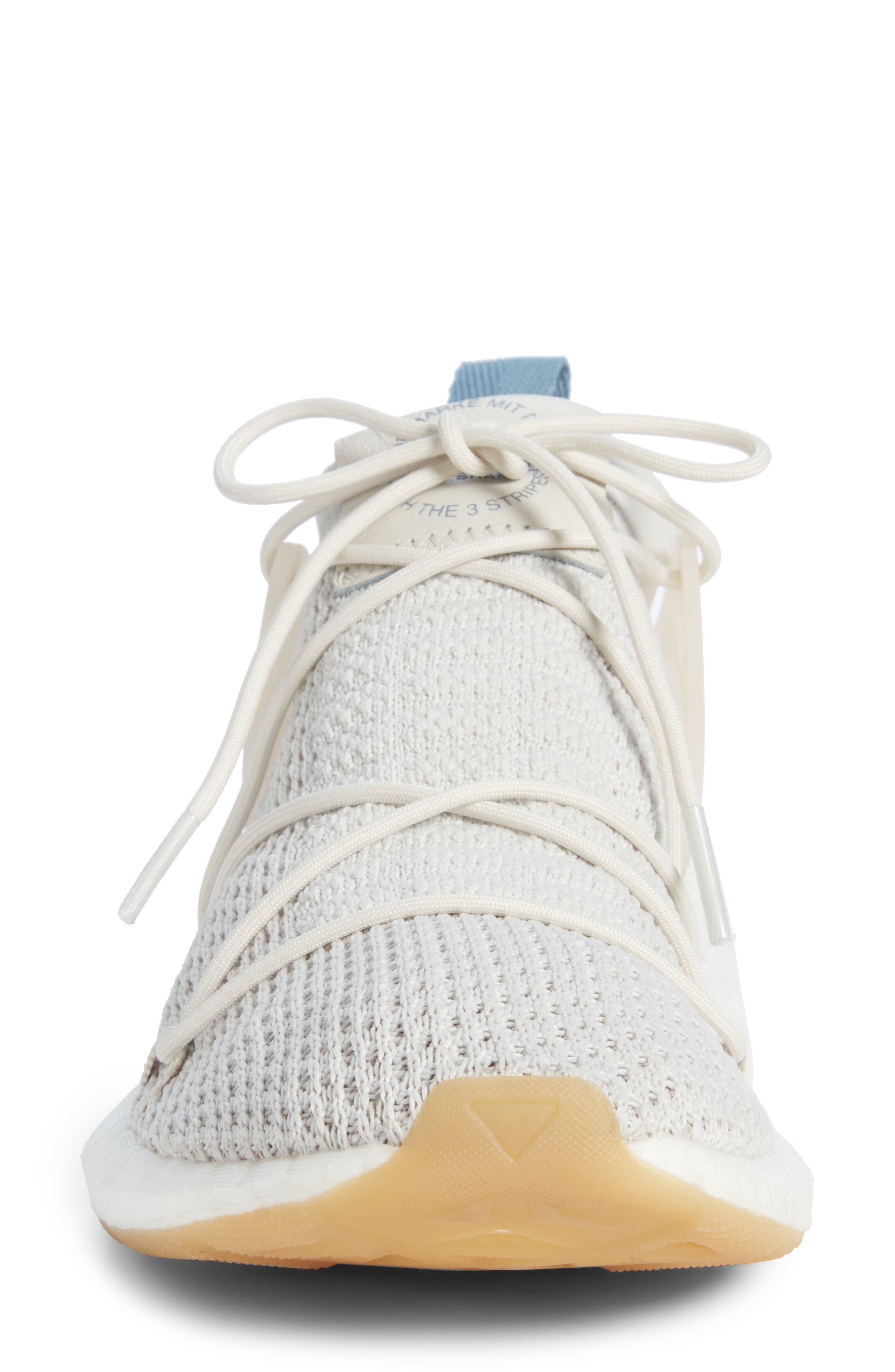 Arkyn Primeknit Sneaker,                             Alternate thumbnail 4, color,                             TALC/ TALC/ LINEN