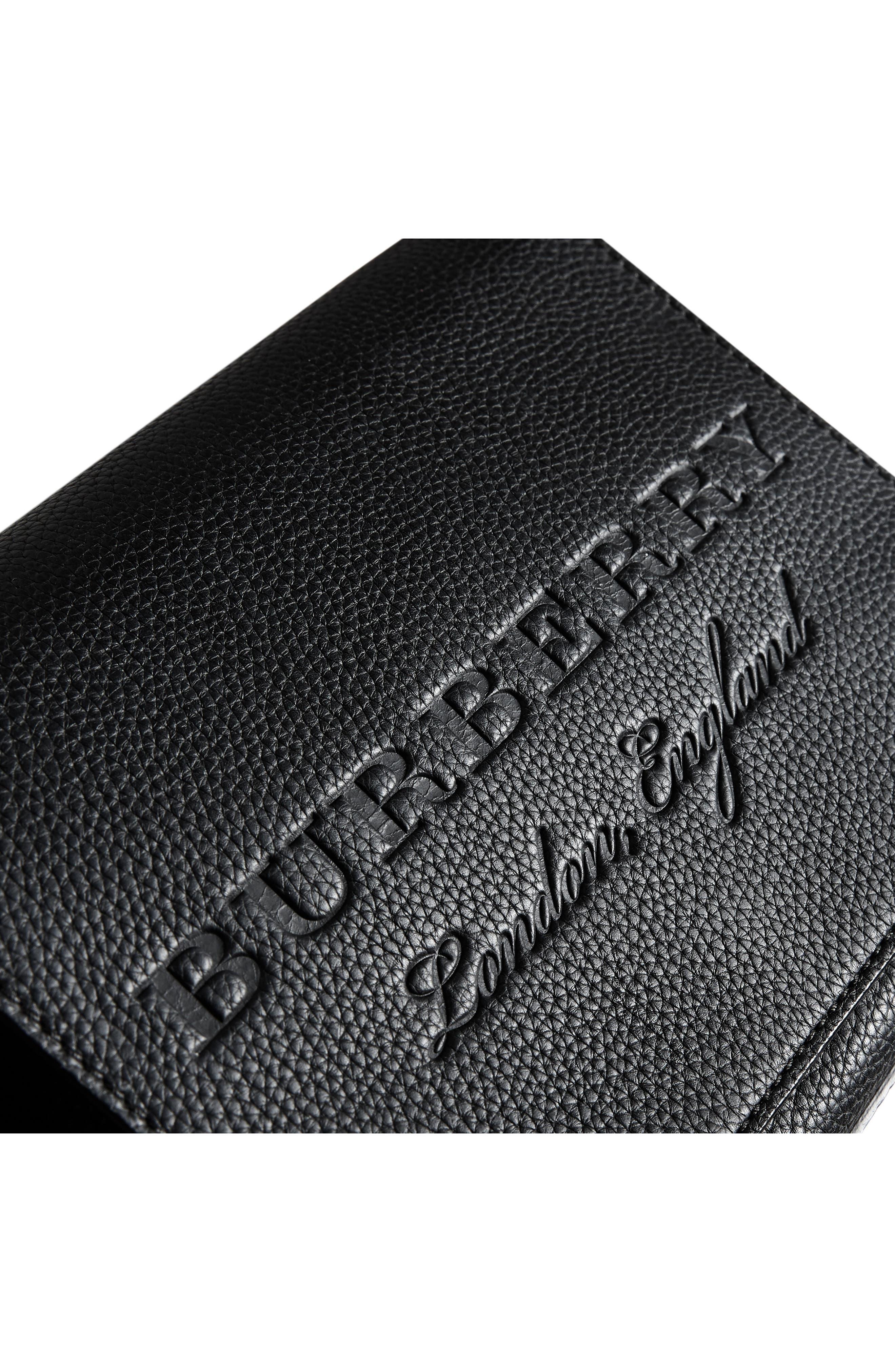 Small Burleigh Leather Crossbody Bag,                             Alternate thumbnail 7, color,                             001