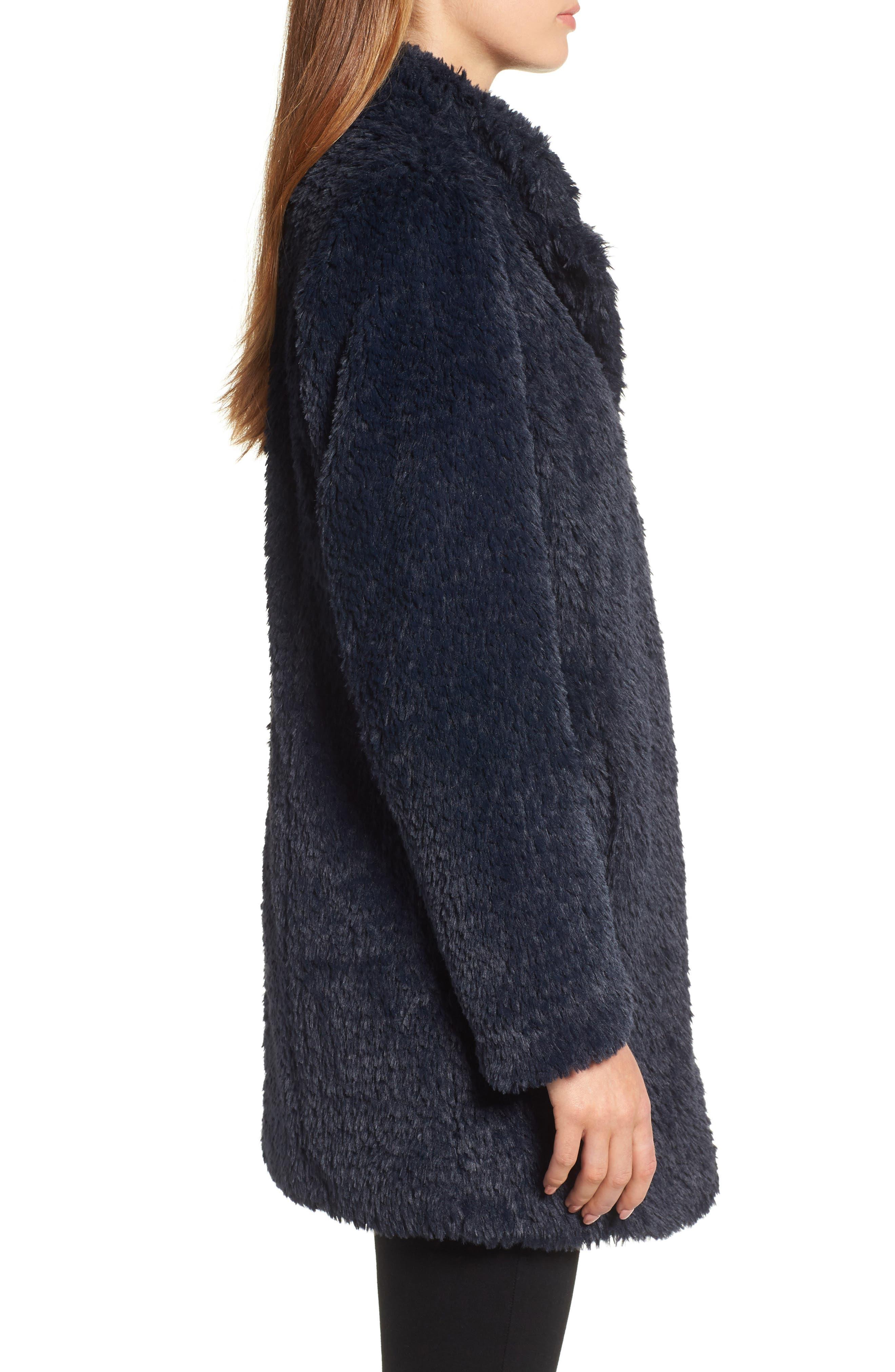 Faux Fur Jacket,                             Alternate thumbnail 15, color,