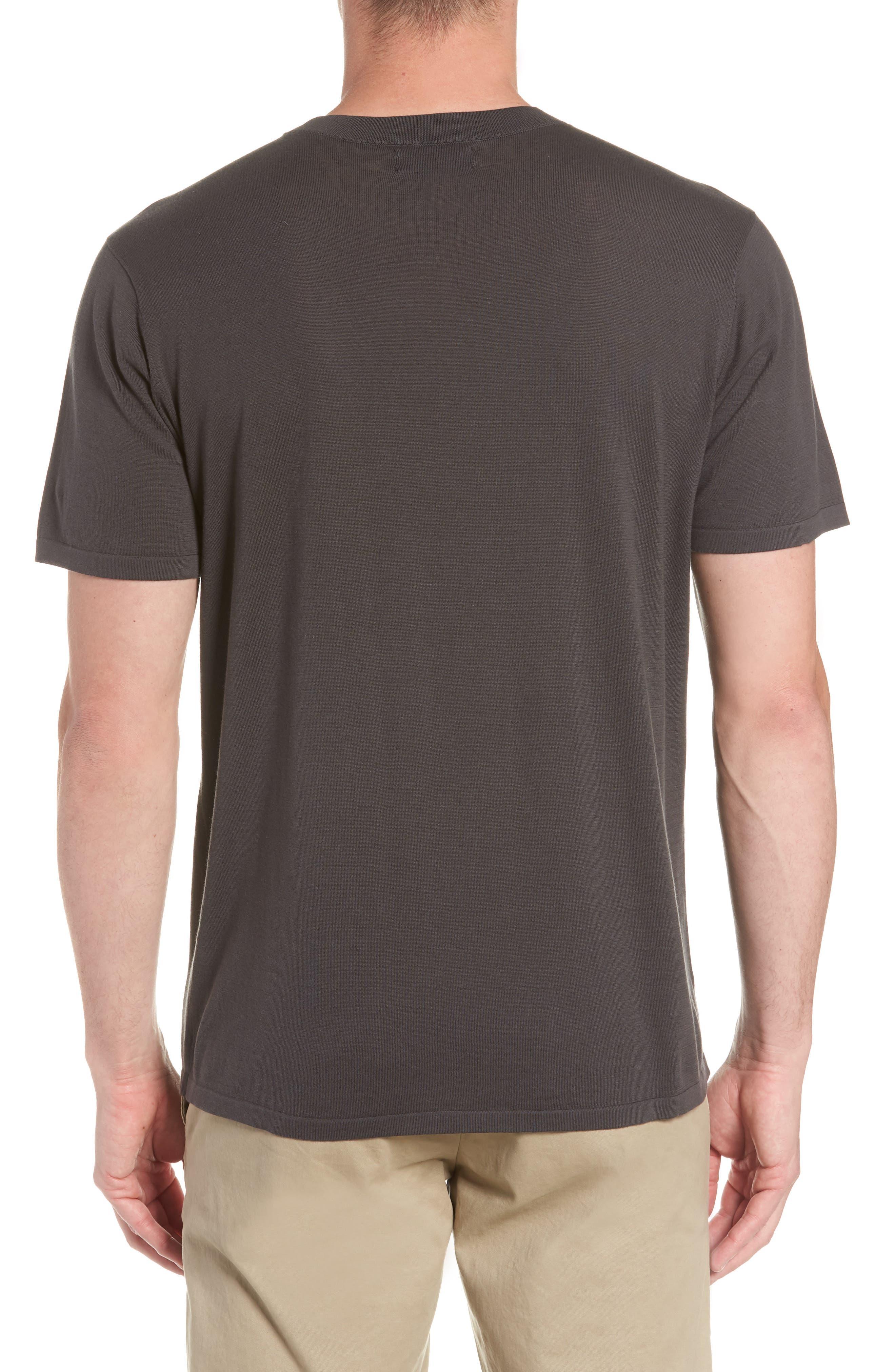 Slim Fit Pima Cotton Sweater T-Shirt,                             Alternate thumbnail 2, color,                             020