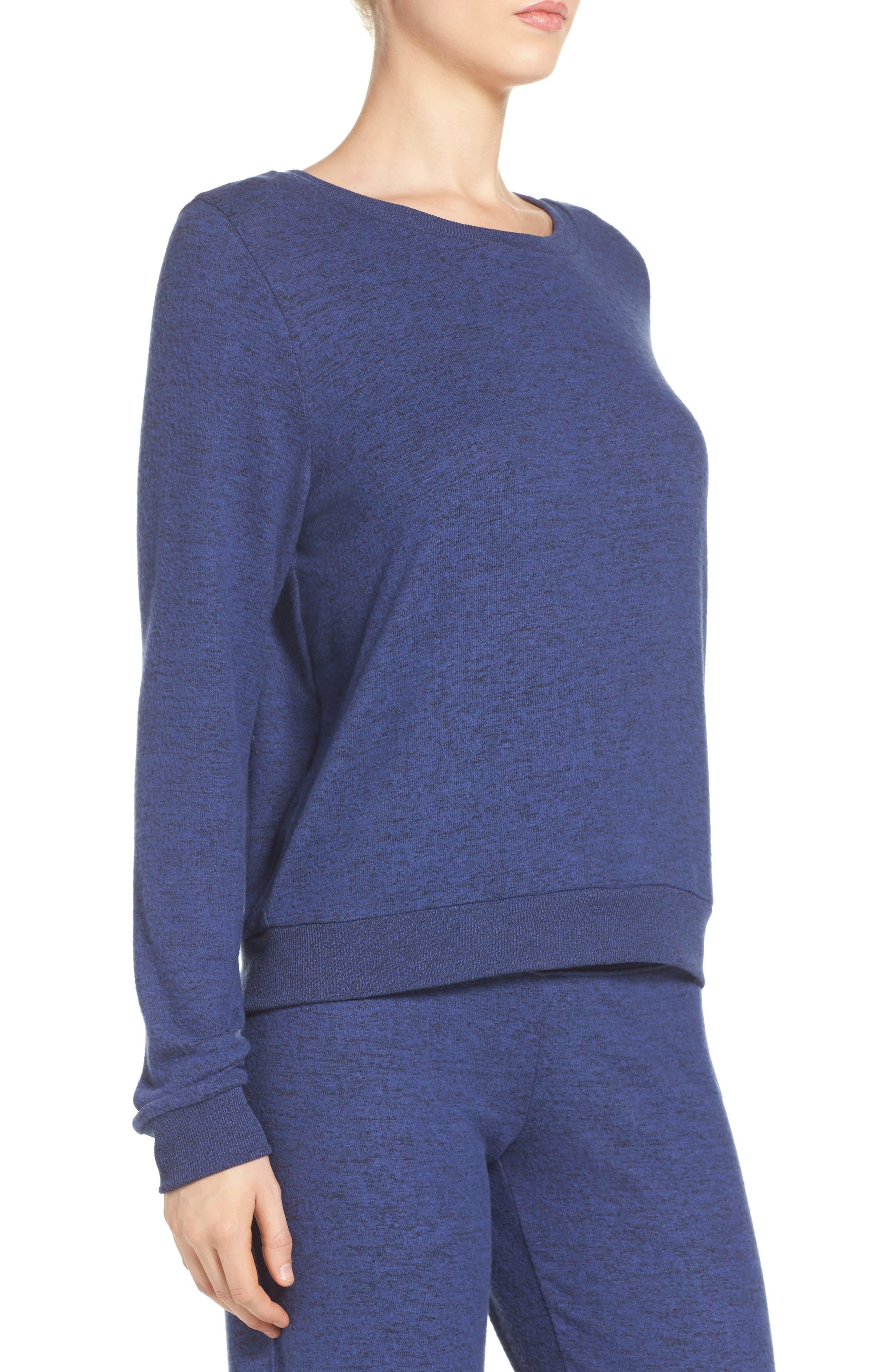 Brushed Hacci Sweatshirt,                             Alternate thumbnail 61, color,