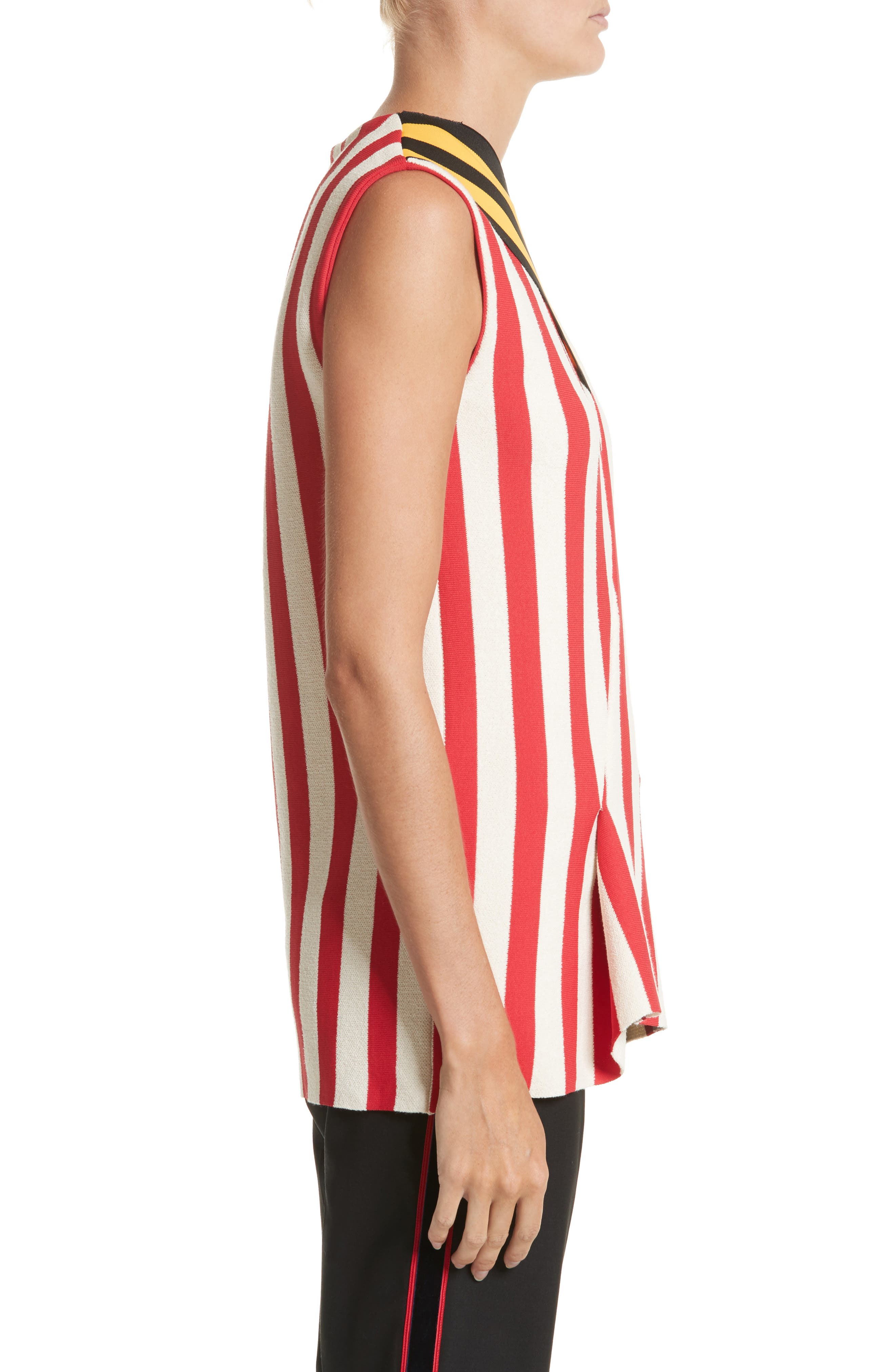 Stripe Top,                             Alternate thumbnail 3, color,                             600