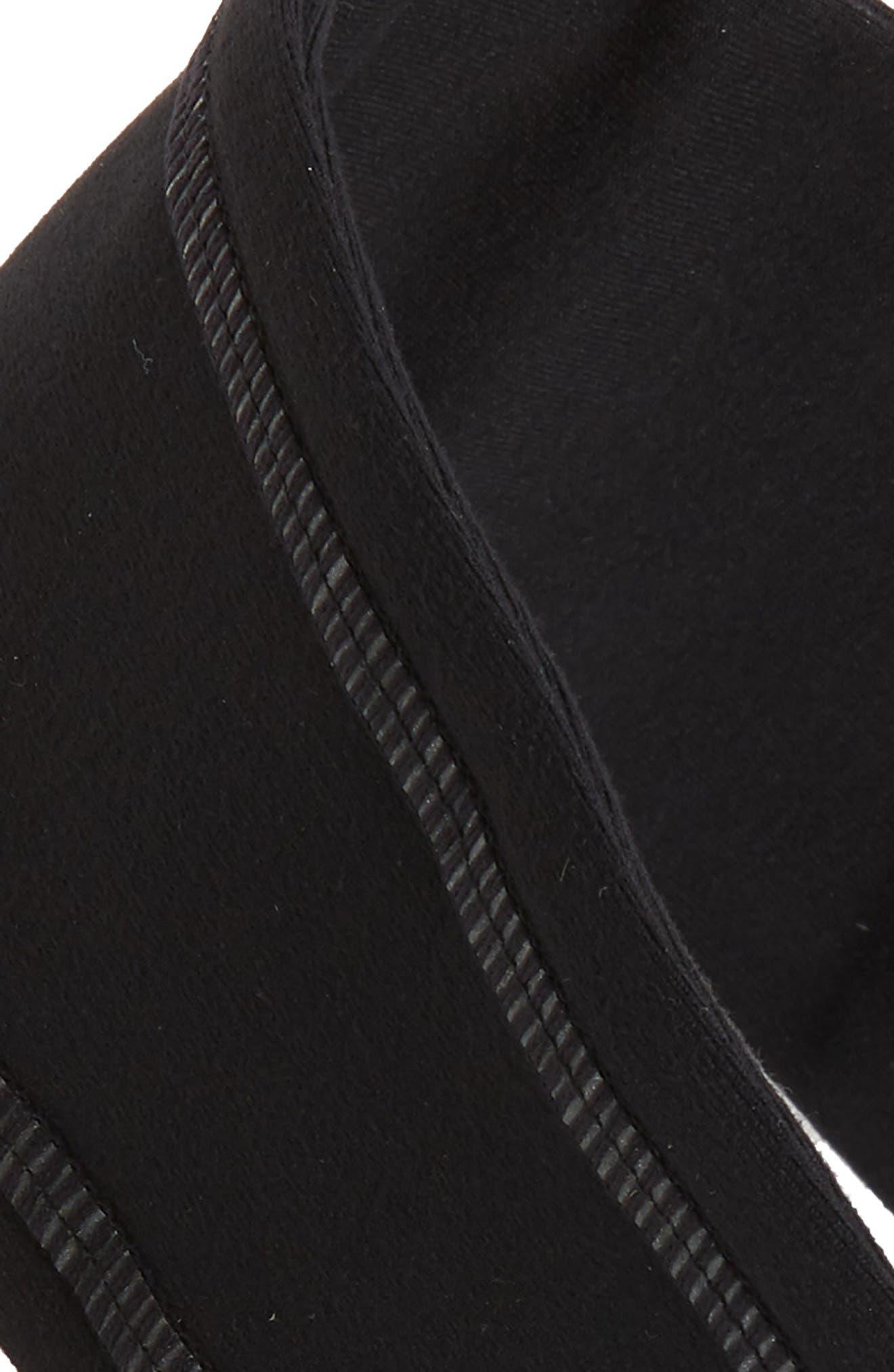 ZELLA,                             'Zeltek' Reflective Headband,                             Alternate thumbnail 3, color,                             BLACK