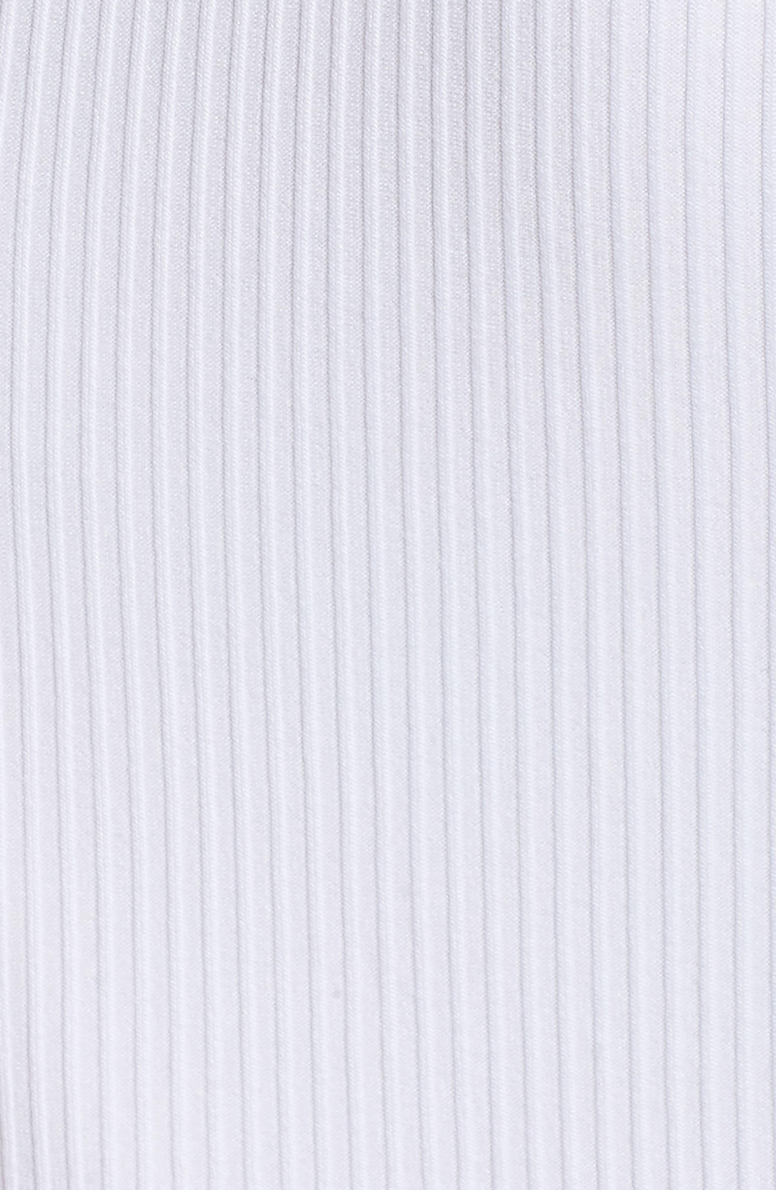 Belted Rib Knit Dress,                             Alternate thumbnail 5, color,