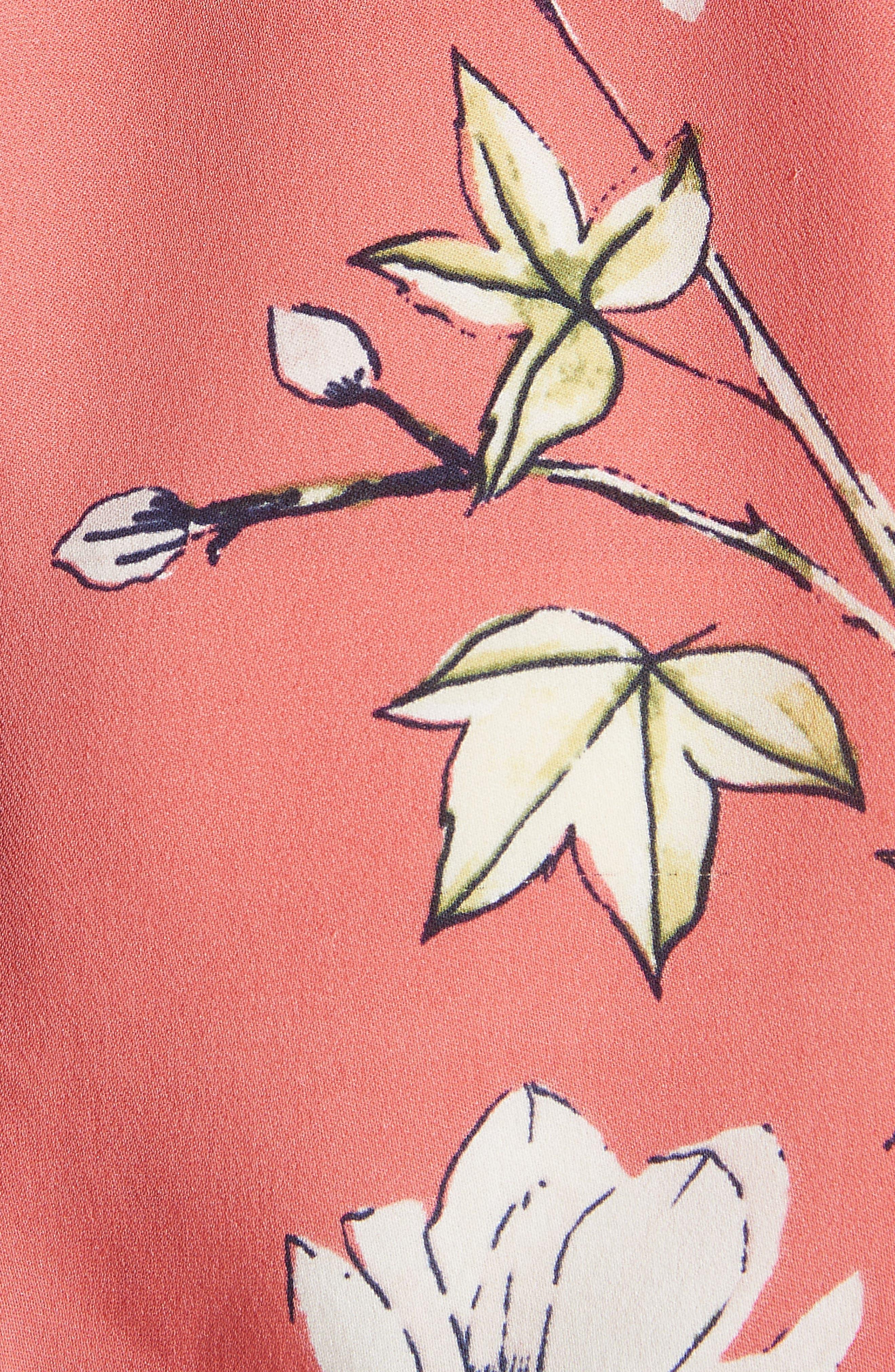 Anasophia Tie Silk Blazer,                             Alternate thumbnail 12, color,