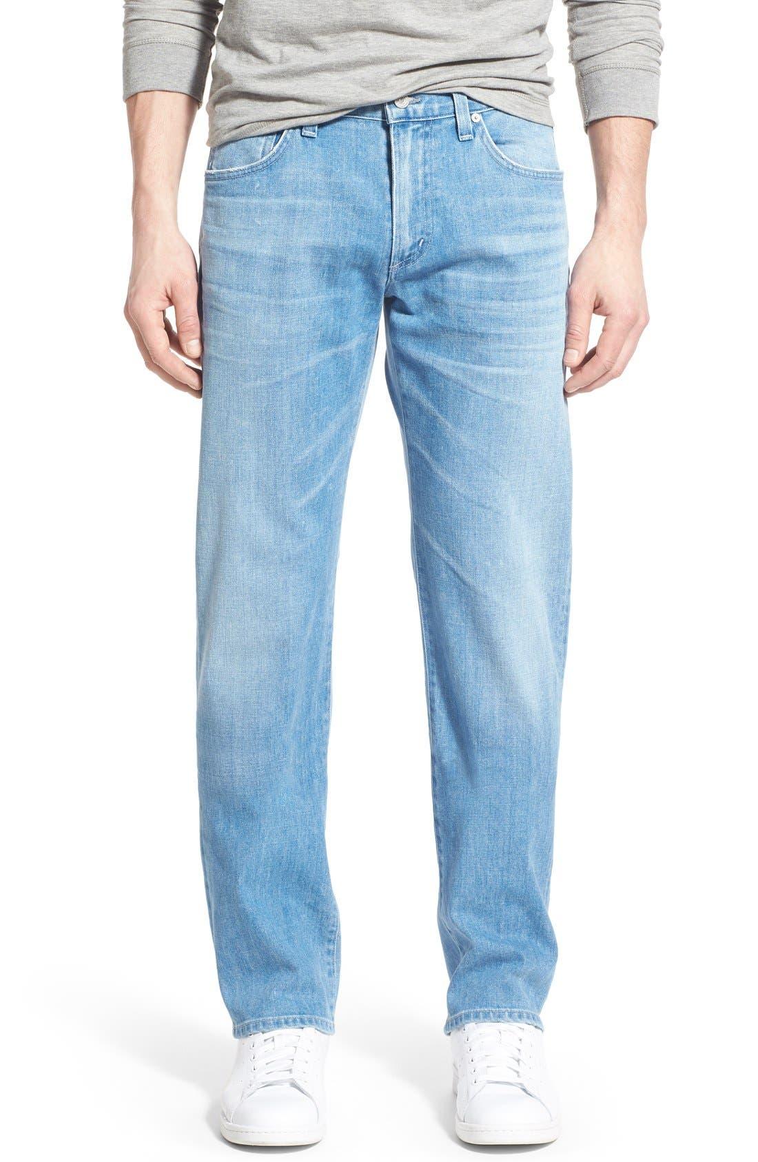 'Sid' Straight Leg Jeans,                             Main thumbnail 1, color,                             465