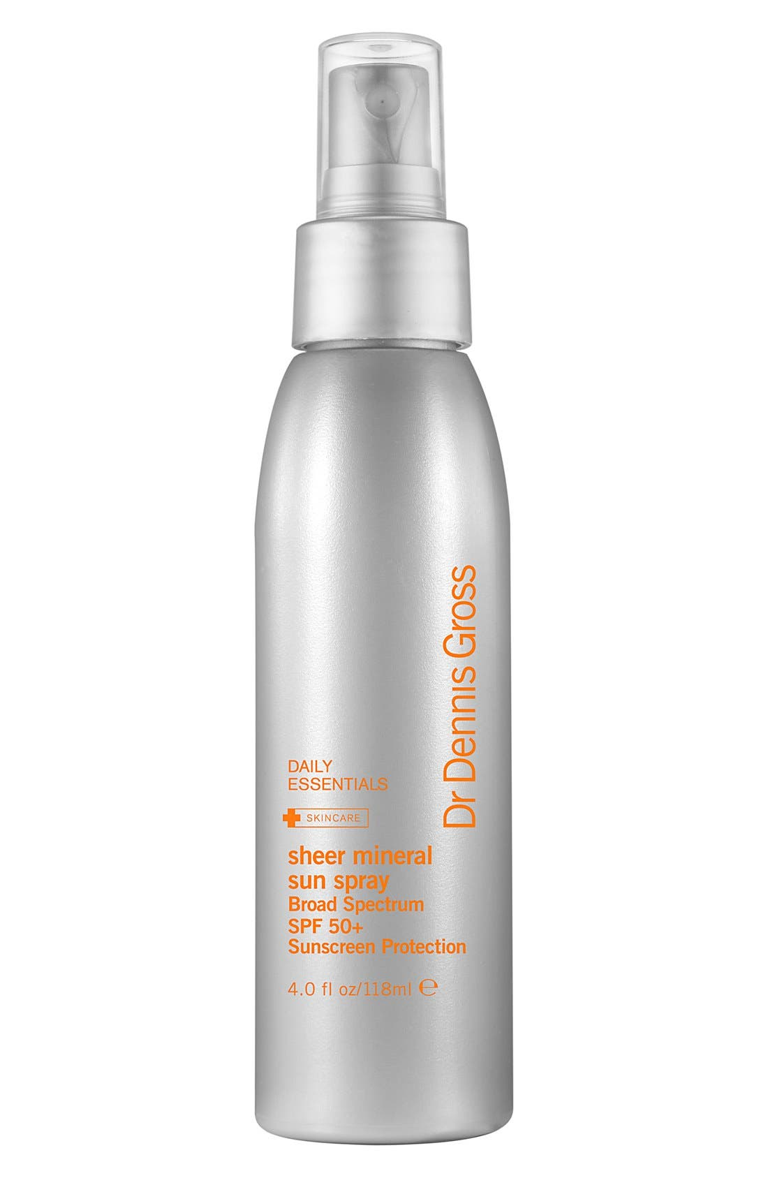 Sheer Mineral Sun Spray Broad Spectrum SPF 50+ Sunscreen Protection, Main, color, 000