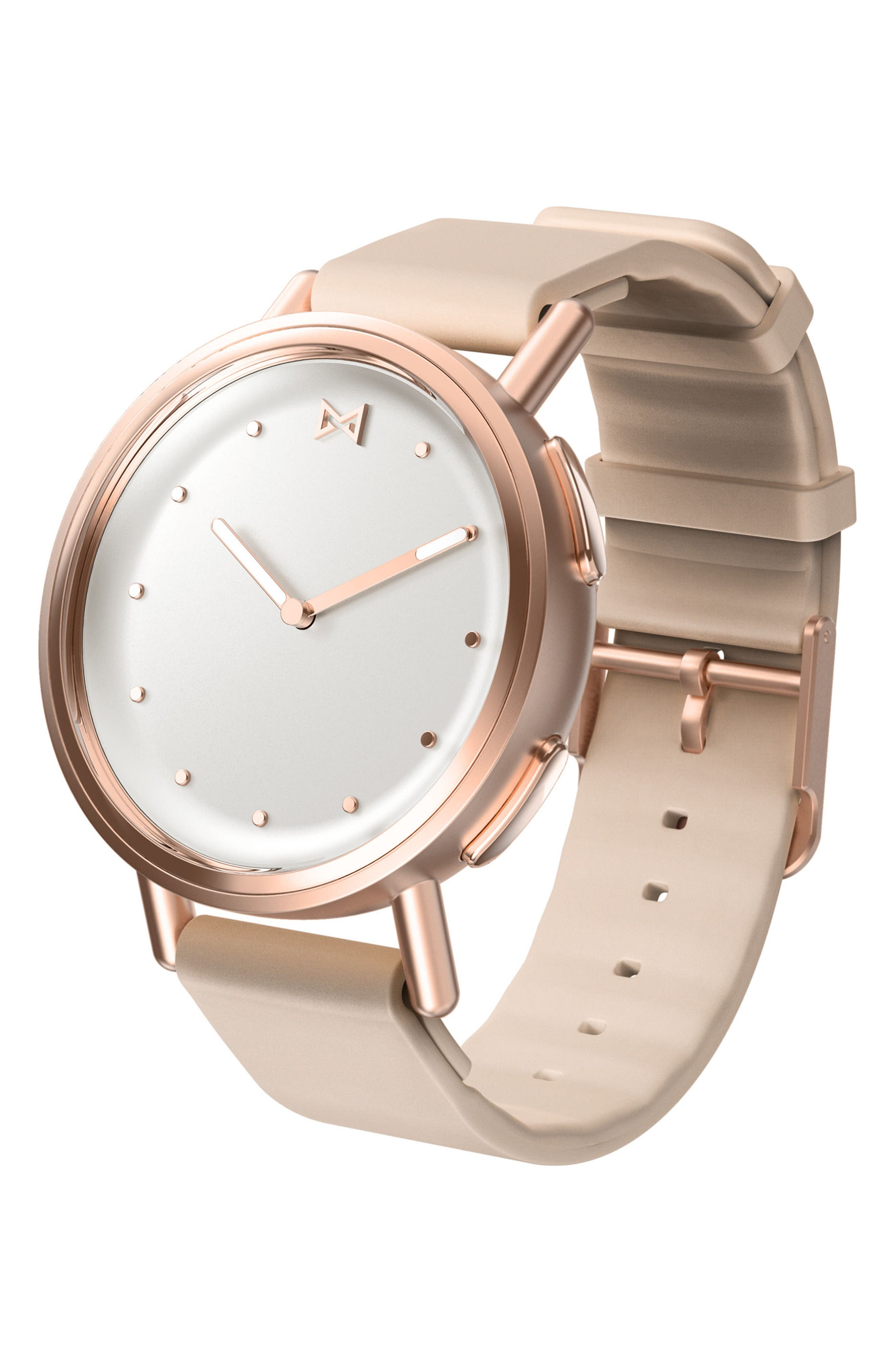 Path Strap Smartwatch, 36mm,                         Main,                         color, ROSE GOLD