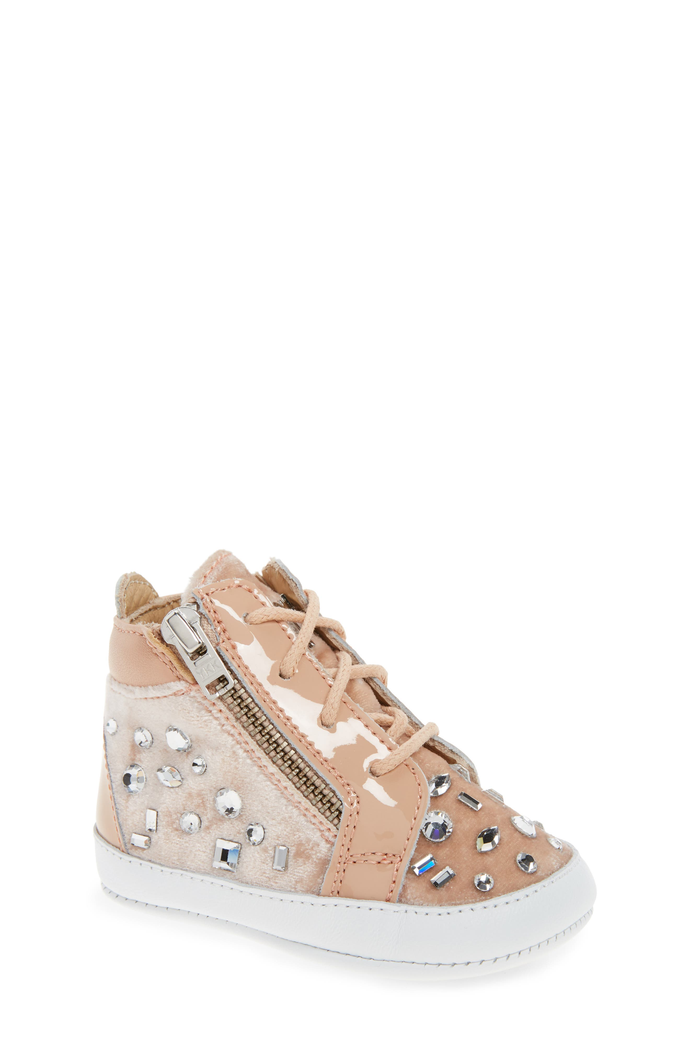 Veronica Embellished Sneaker,                             Main thumbnail 1, color,                             250
