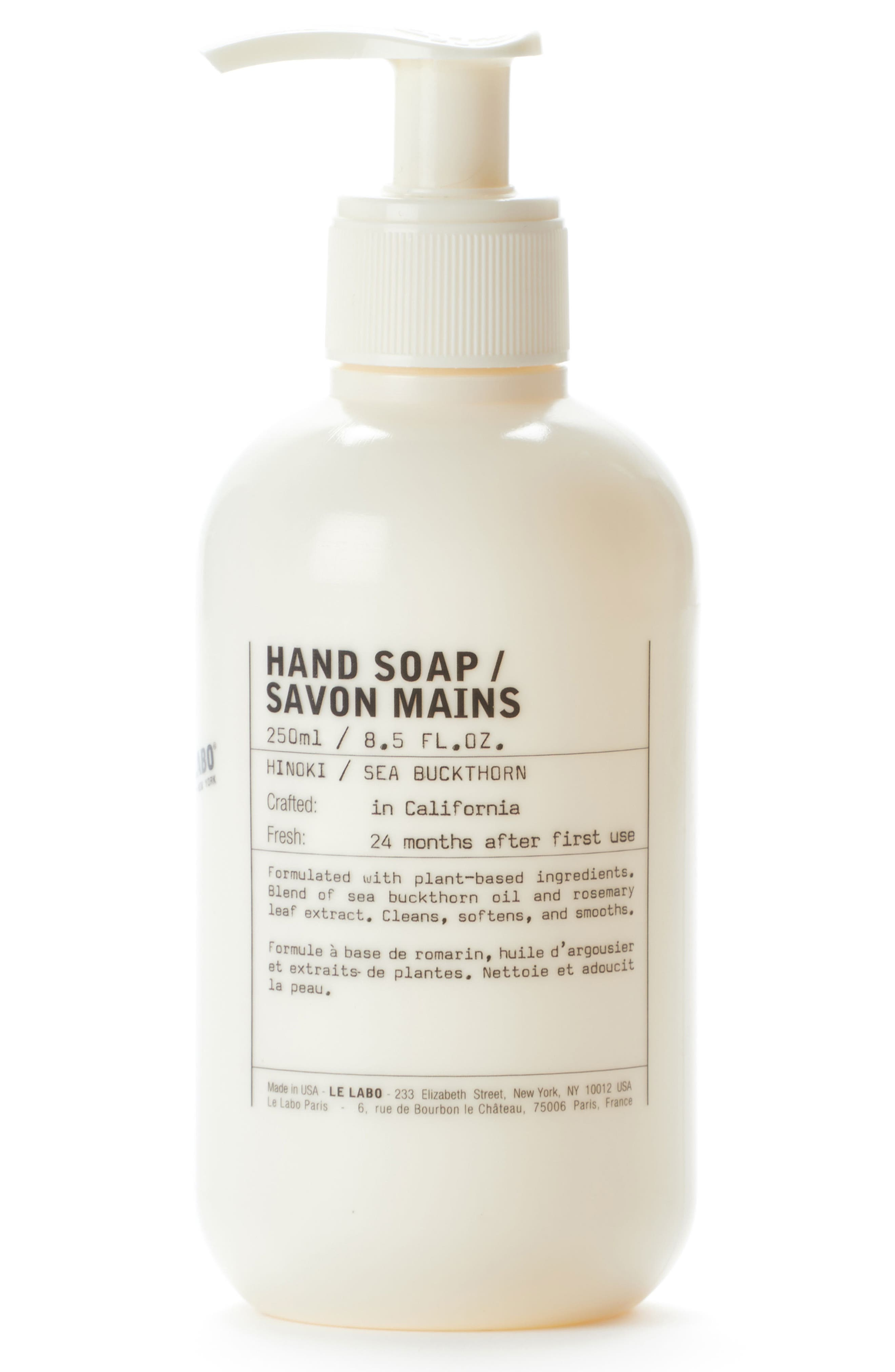 Hand Soap,                         Main,                         color,