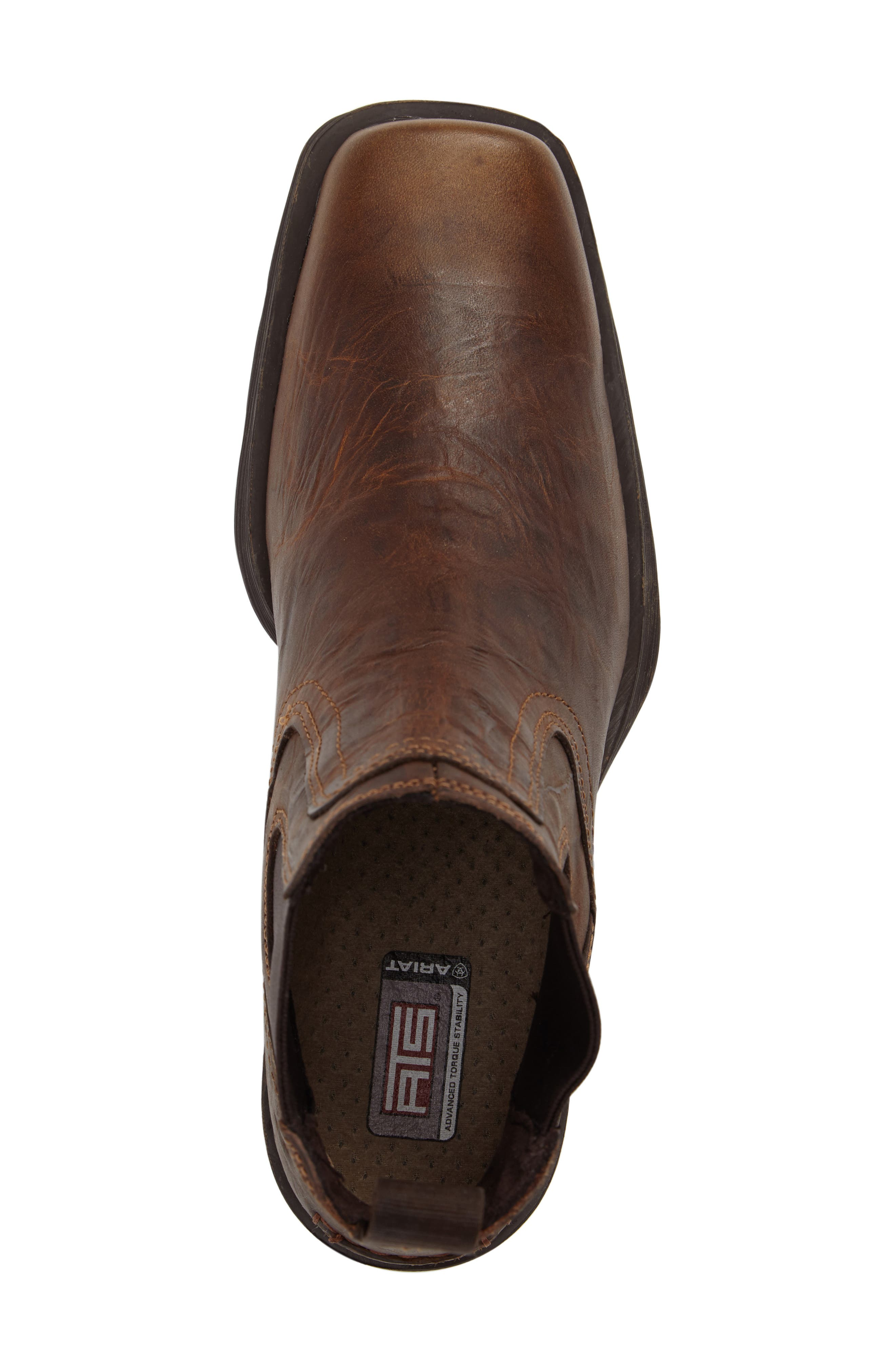 ARIAT,                             Midtown Rambler Mid Chelsea Boot,                             Alternate thumbnail 5, color,                             BARN BROWN