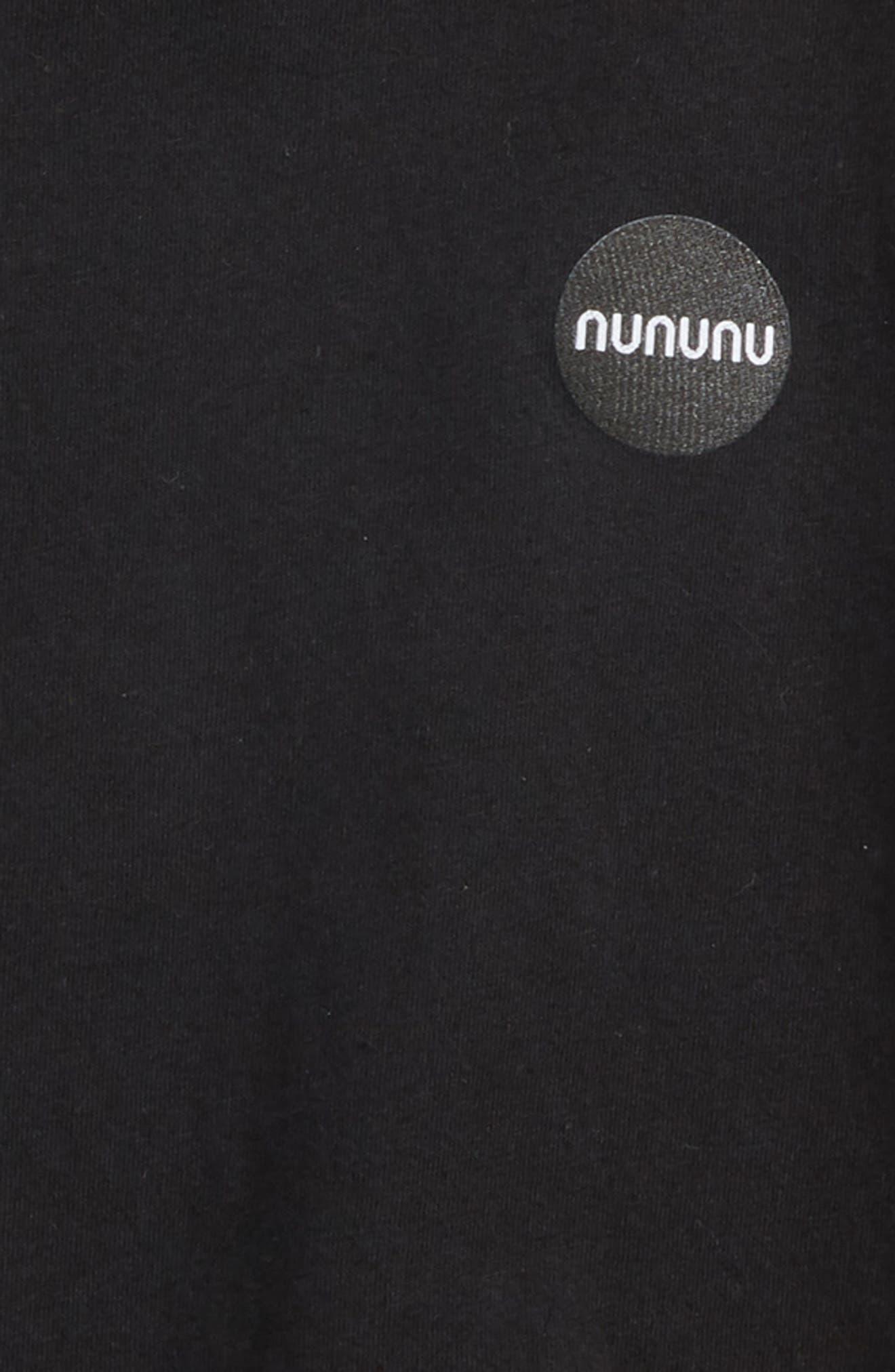 Ninja Hooded T-Shirt,                             Alternate thumbnail 3, color,