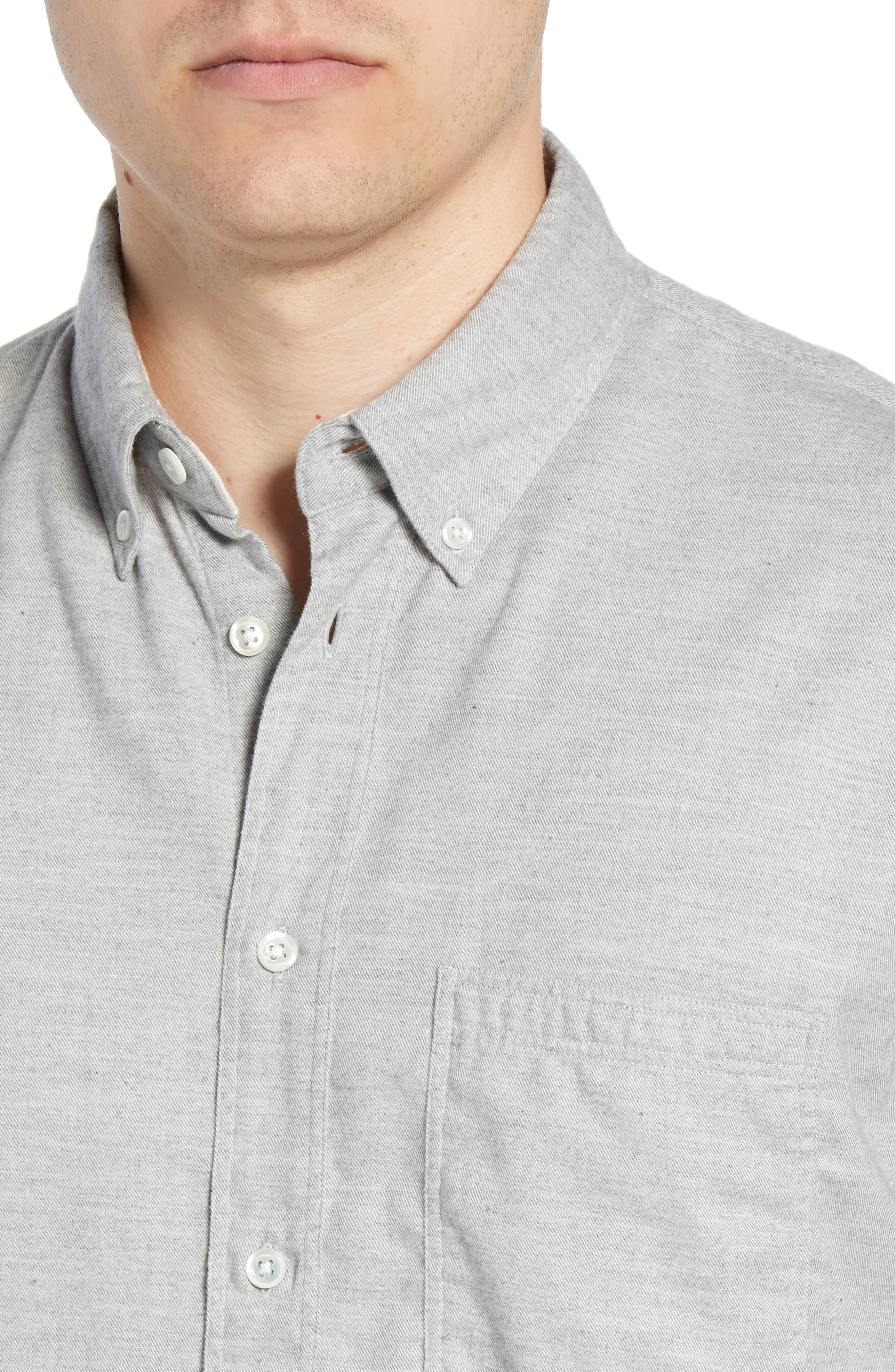 Tuscumbia Regular Fit Sport Shirt,                             Alternate thumbnail 2, color,                             LIGHT GREY