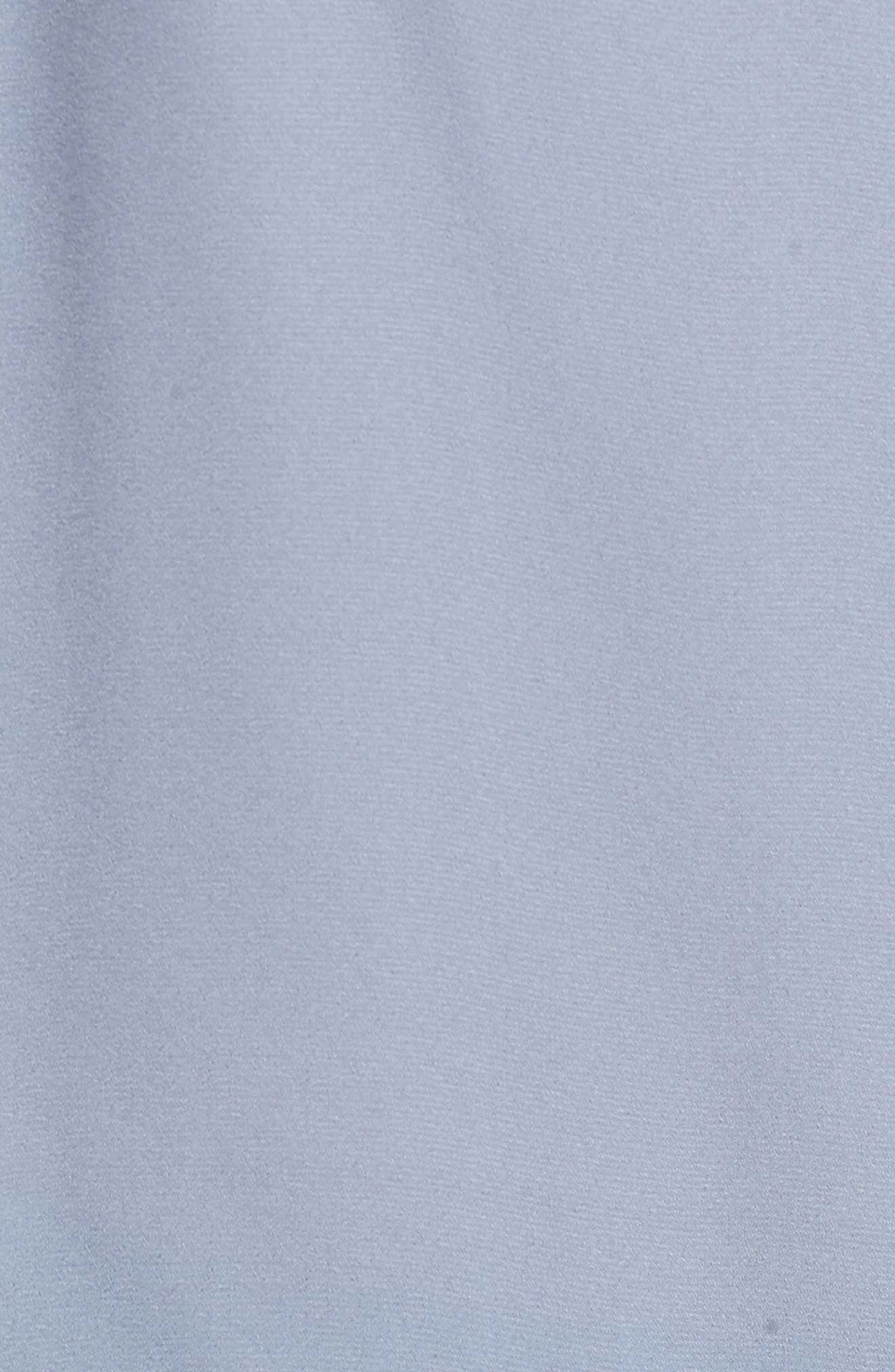 Ruffle Blouse,                             Alternate thumbnail 6, color,                             BLUE CHINTZ