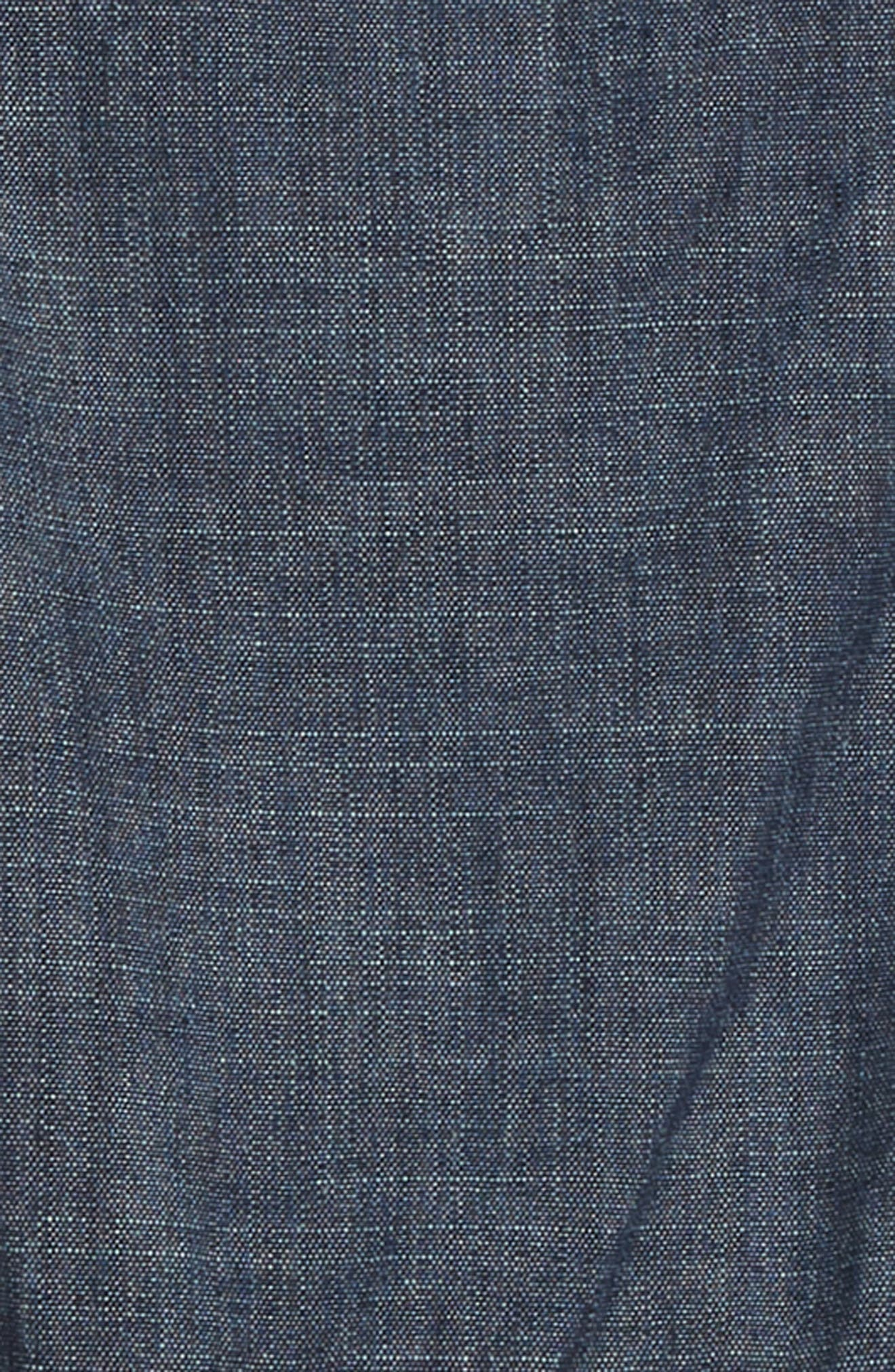 Chambray Jumper,                             Alternate thumbnail 3, color,                             BLUE CHAMBRAY