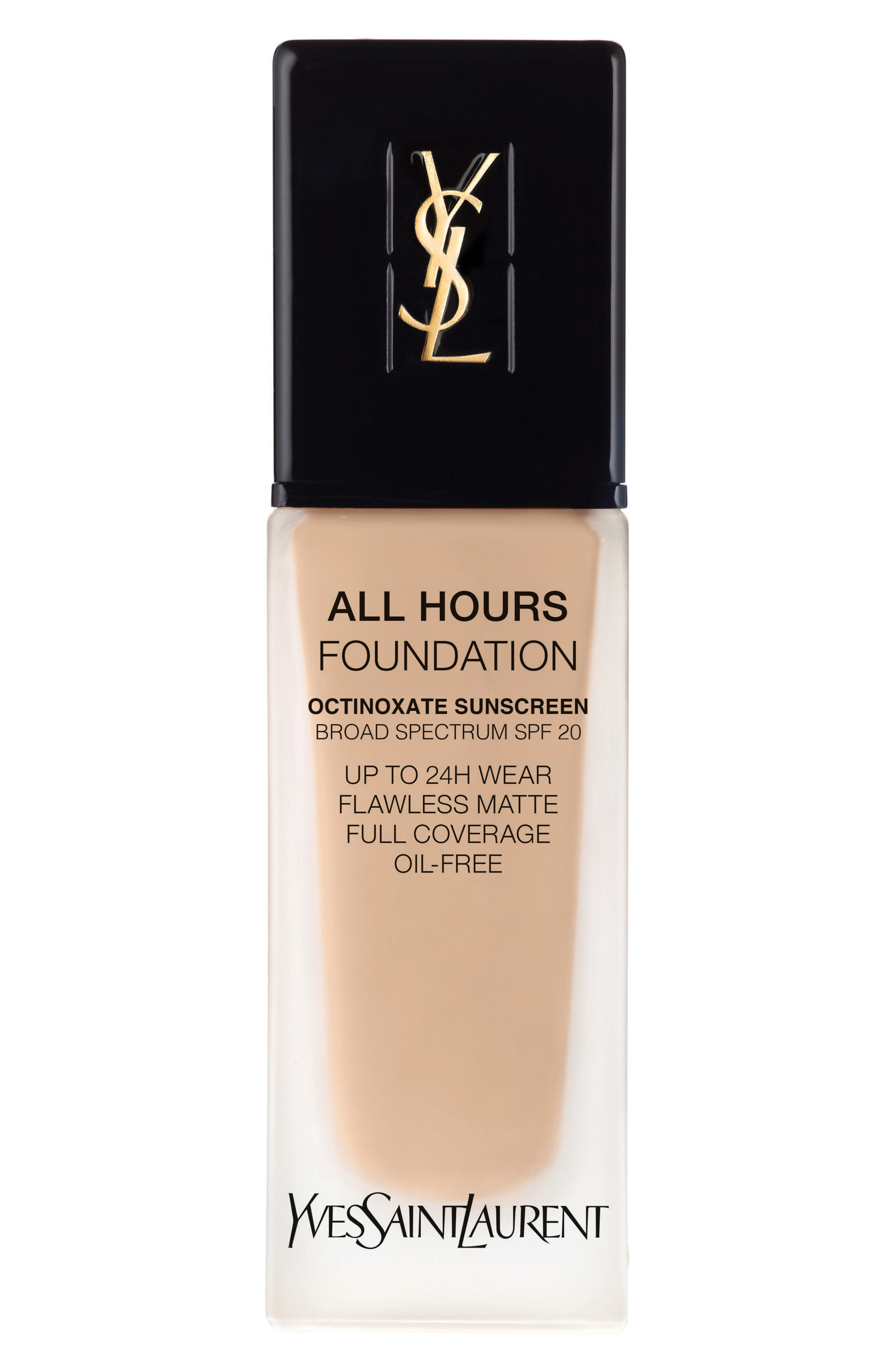 Yves Saint Laurent All Hours Full Coverage Matte Foundation Spf 20 - Bd20 Warm Ivory