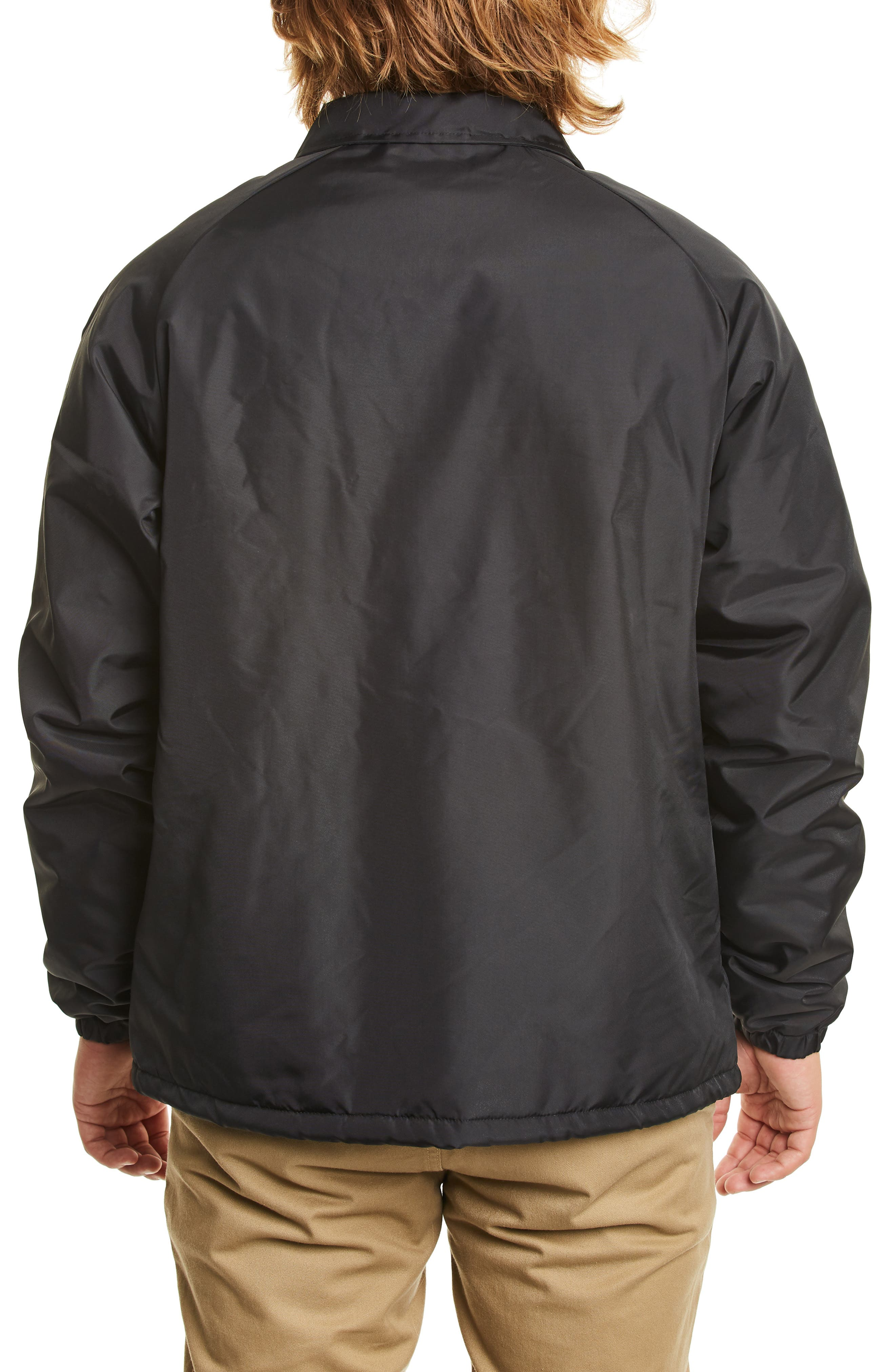 Claxton Water Repellent Jacket with Faux Shearling,                             Alternate thumbnail 2, color,                             BLACK