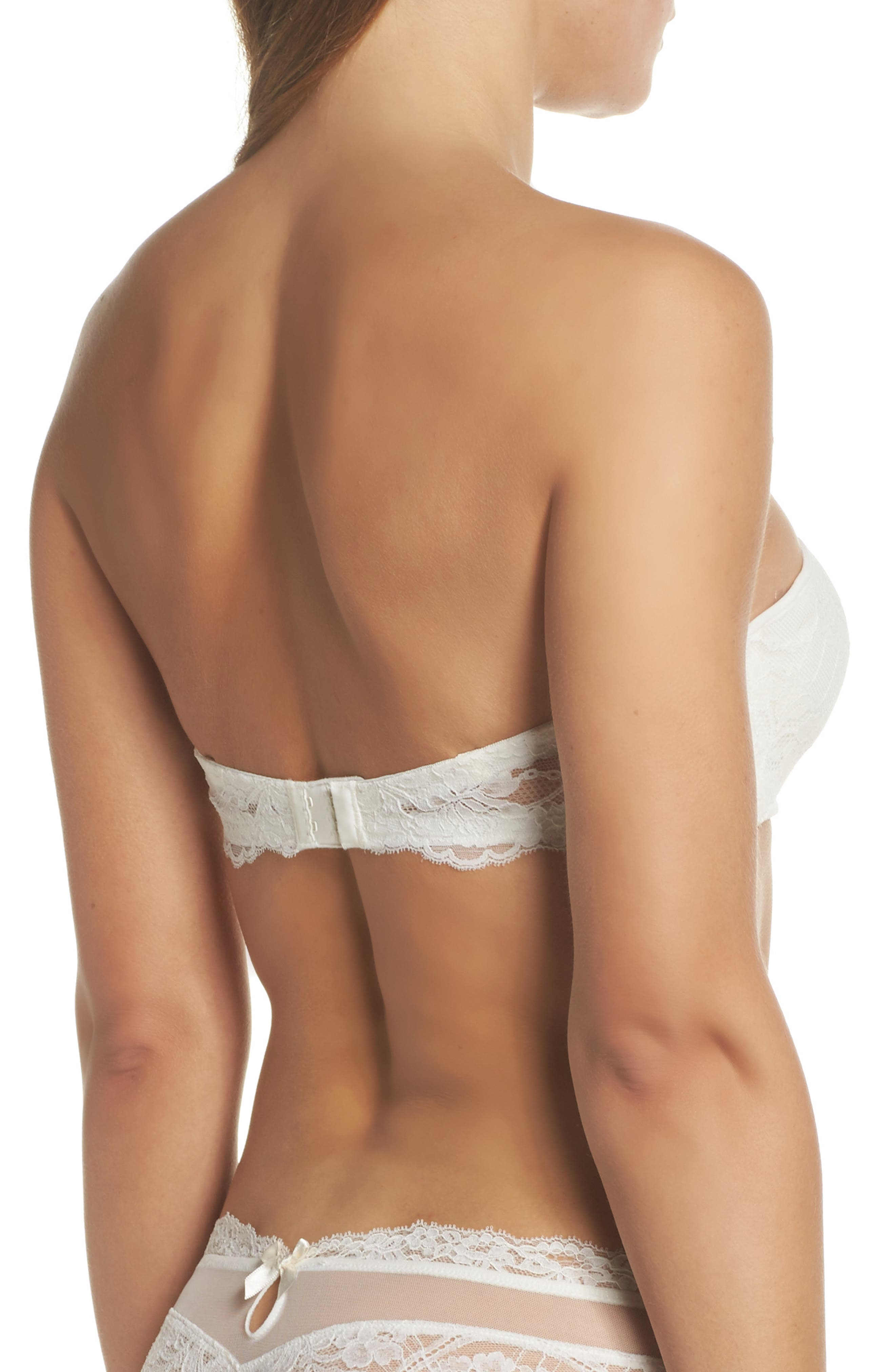 EPURE BY LISE CHARMEL,                             Exception Charm Strapless Underwire Bra,                             Alternate thumbnail 2, color,                             904