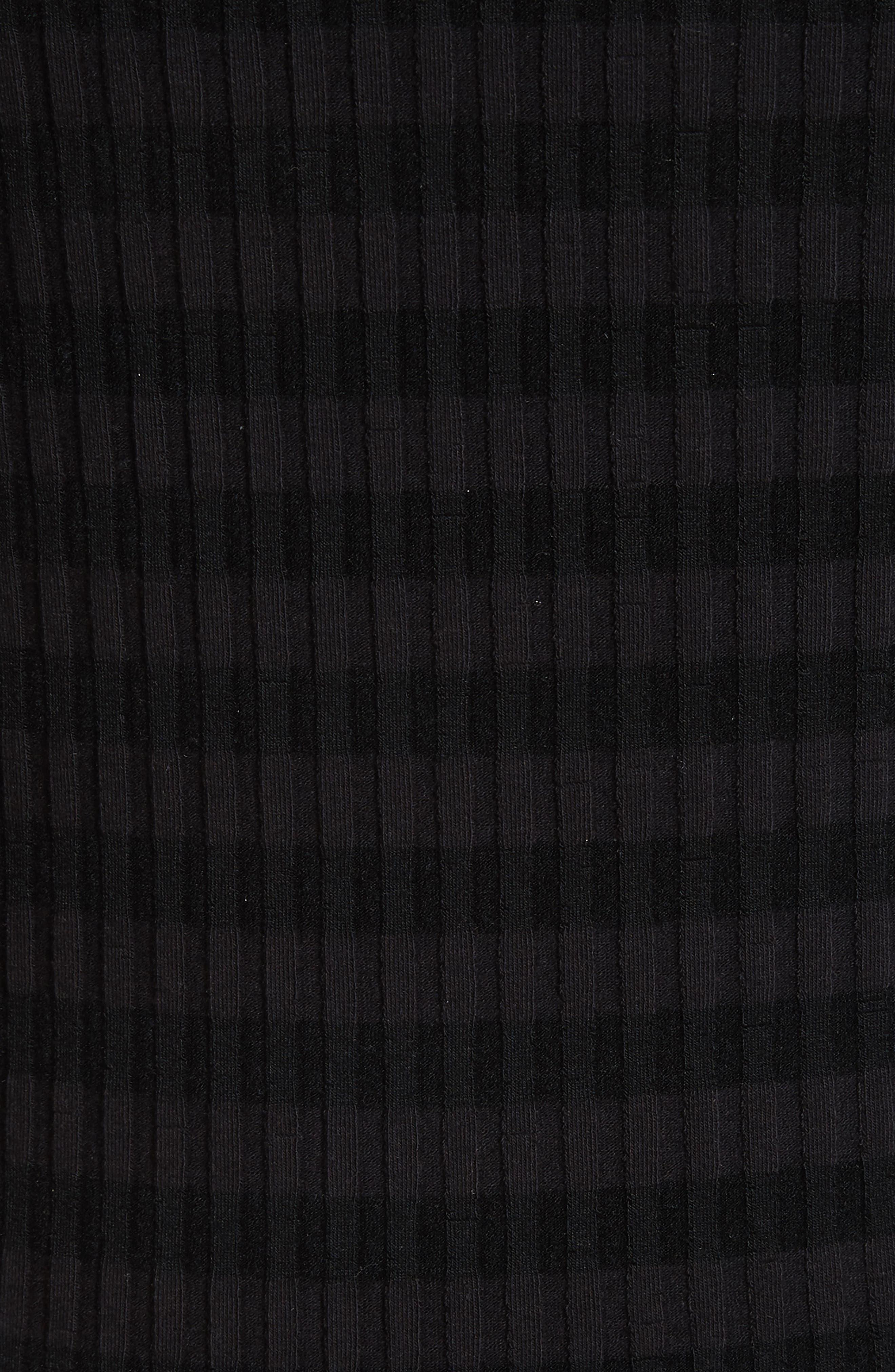 Stripe Off the Shoulder Top,                             Alternate thumbnail 5, color,                             001