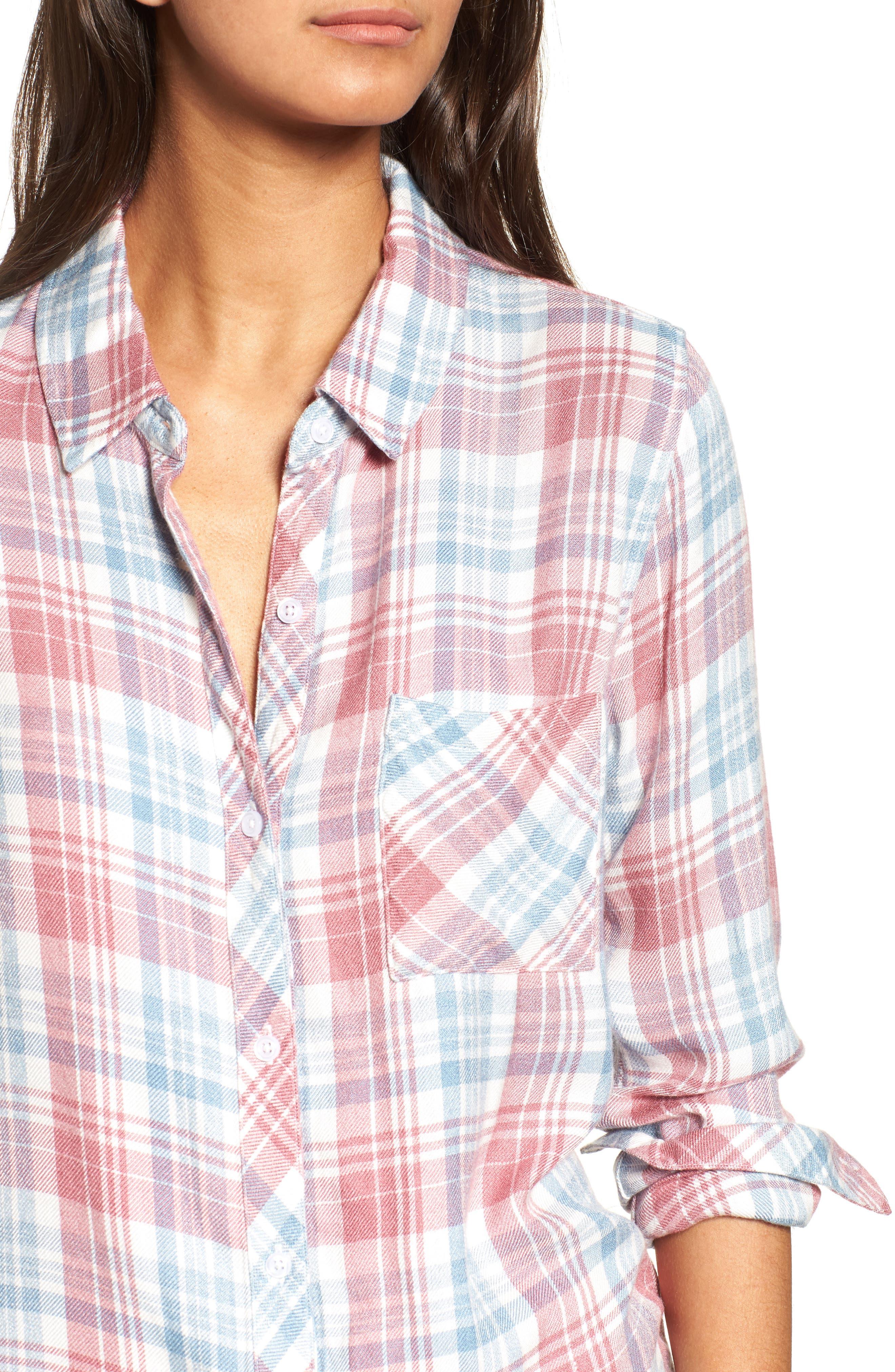Hunter Plaid Shirt,                             Alternate thumbnail 541, color,