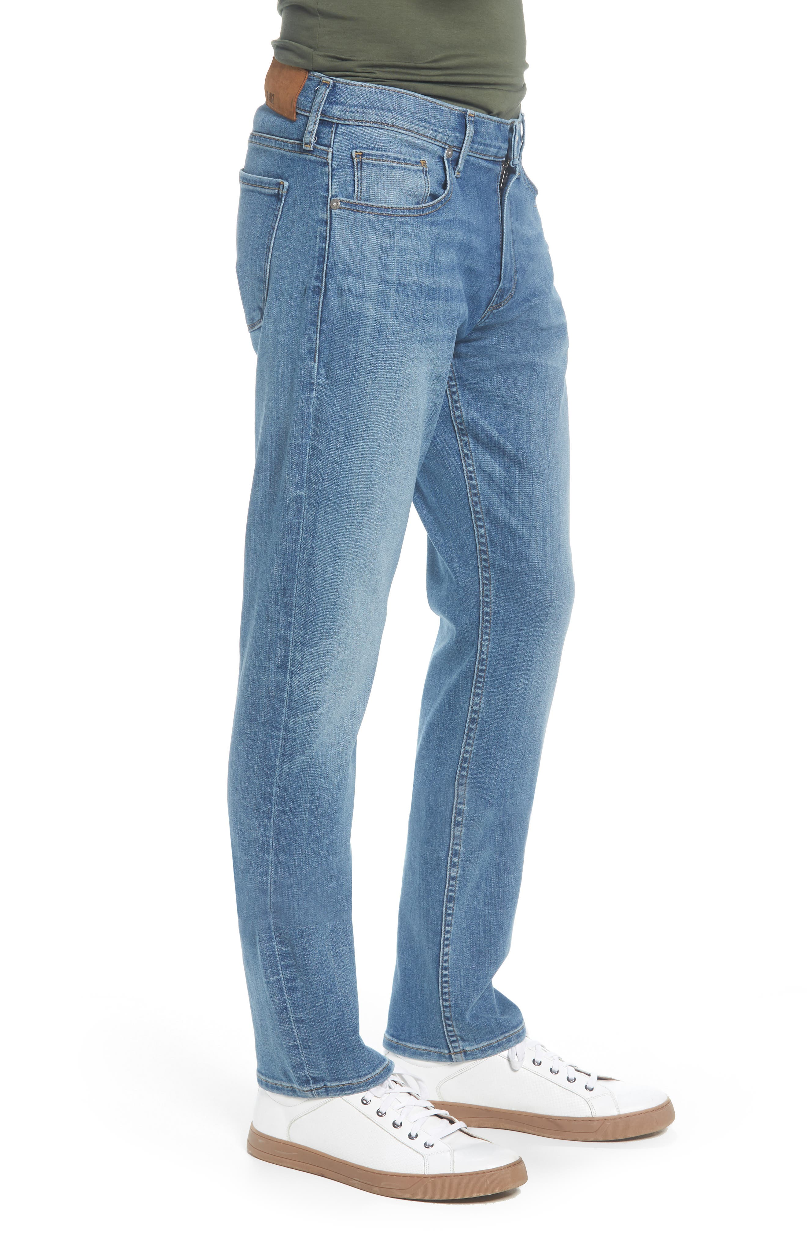 PAIGE,                             Federal Slim Straight Leg Jeans,                             Alternate thumbnail 3, color,                             400