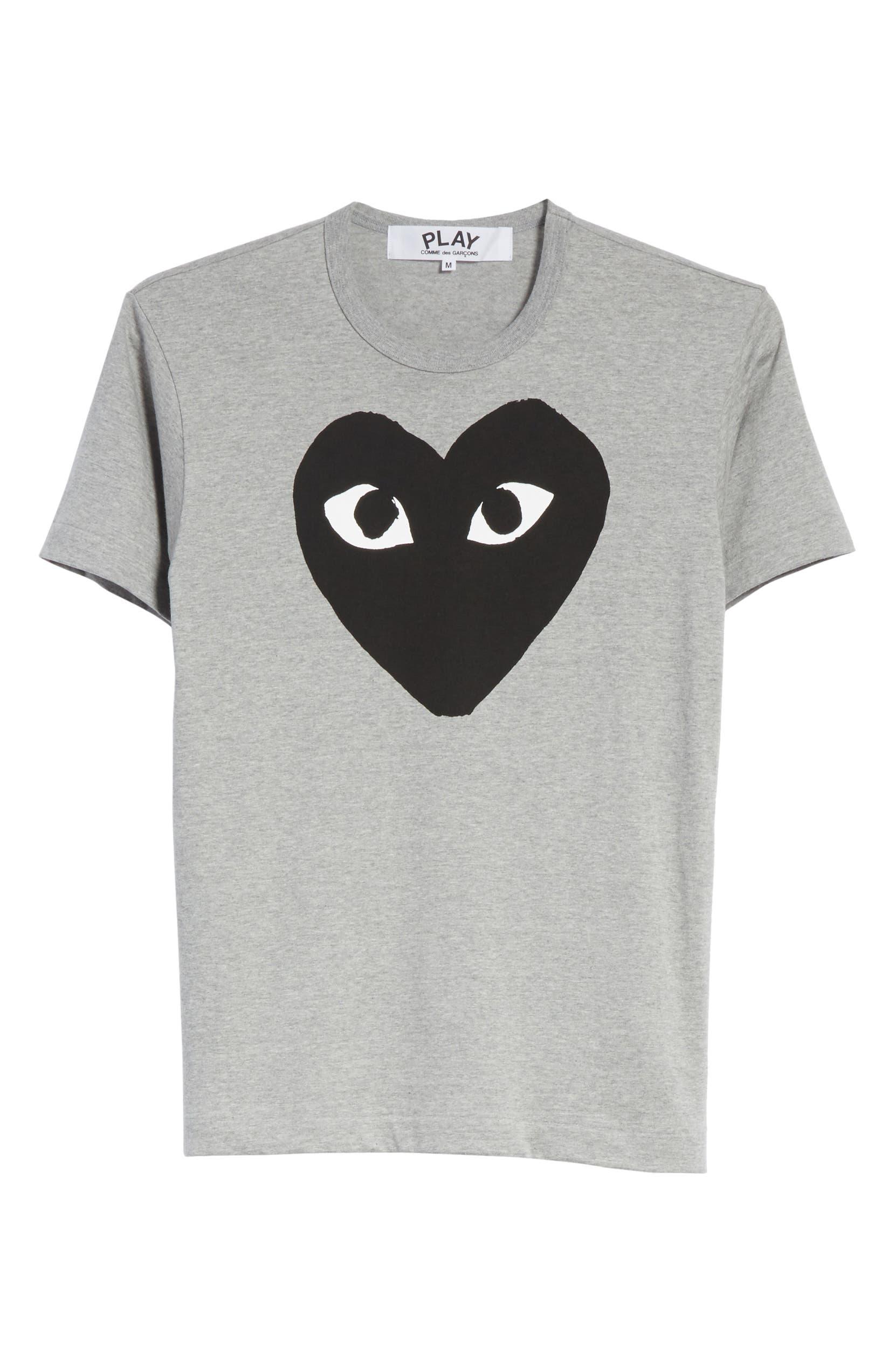 4aff9e9d1159 Comme des Garçons PLAY Logo Graphic Crewneck T-Shirt